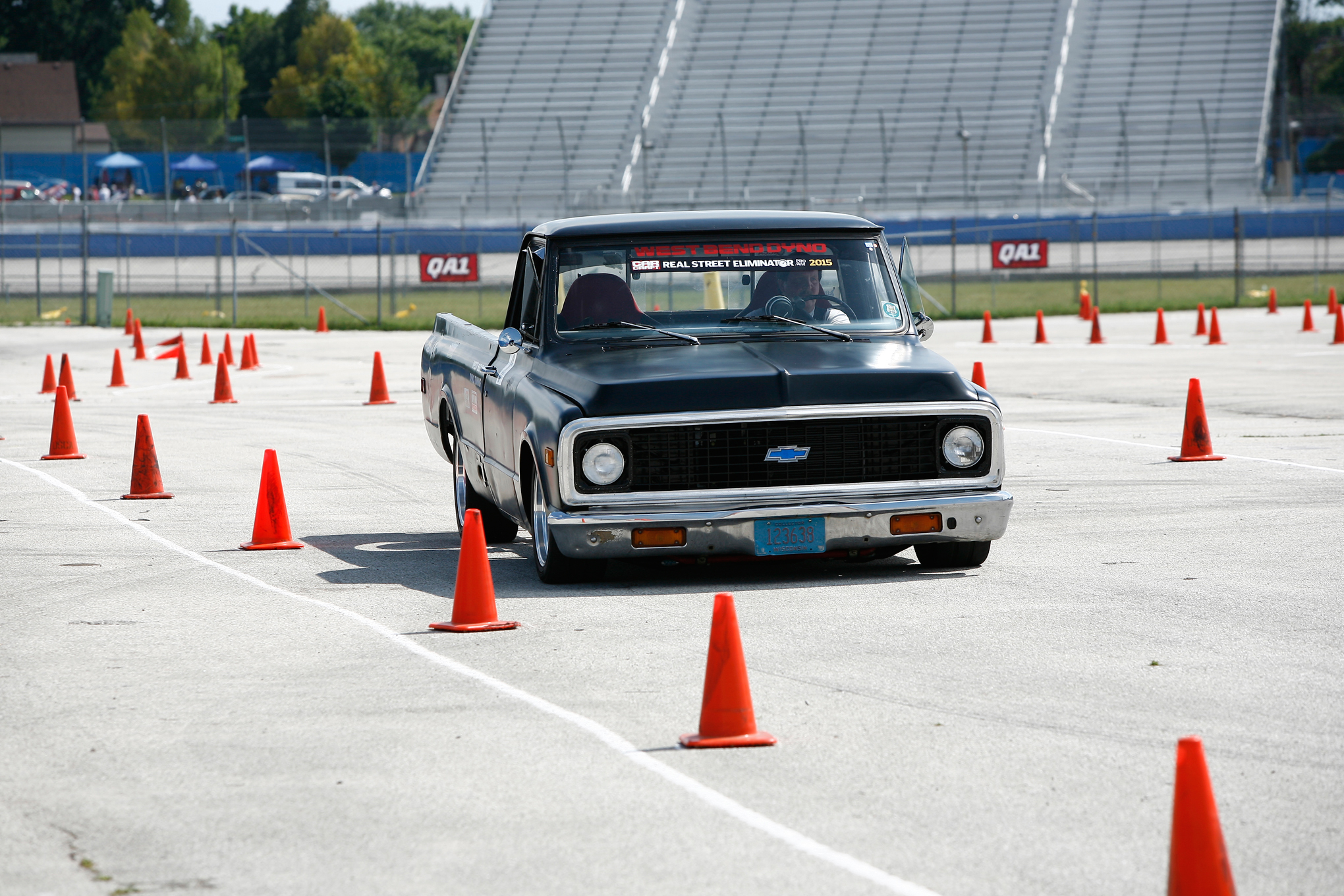 Al Robertson's C10 was by far the most grassroots-oriented RSE competitor. But, that didn't stop the budget-built racer from tearing it up in the autocross