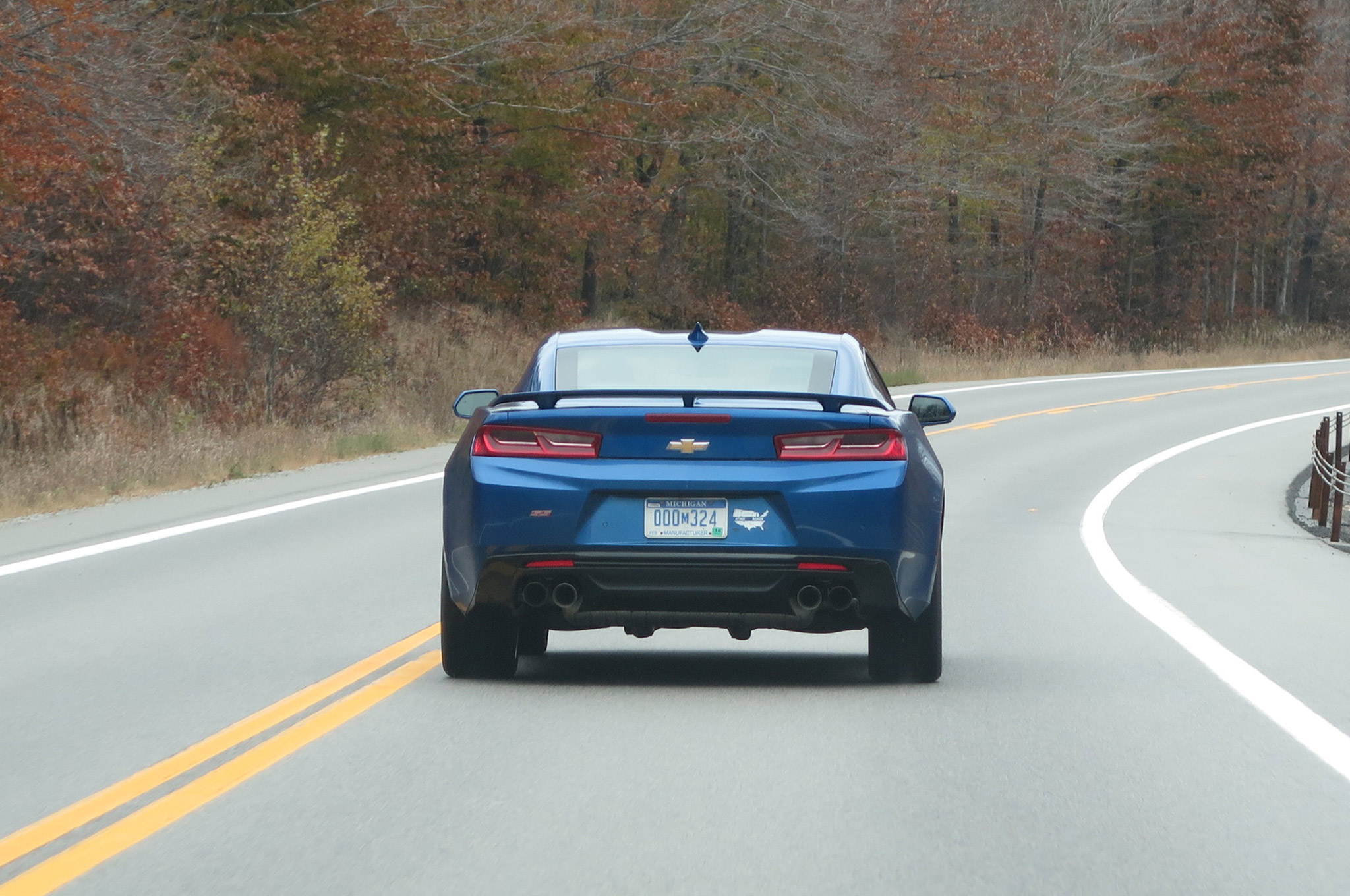 Cruising through the Adirondacks in the fall made for a great drive, but the Camaro would have been a pleasure to drive anywhere.
