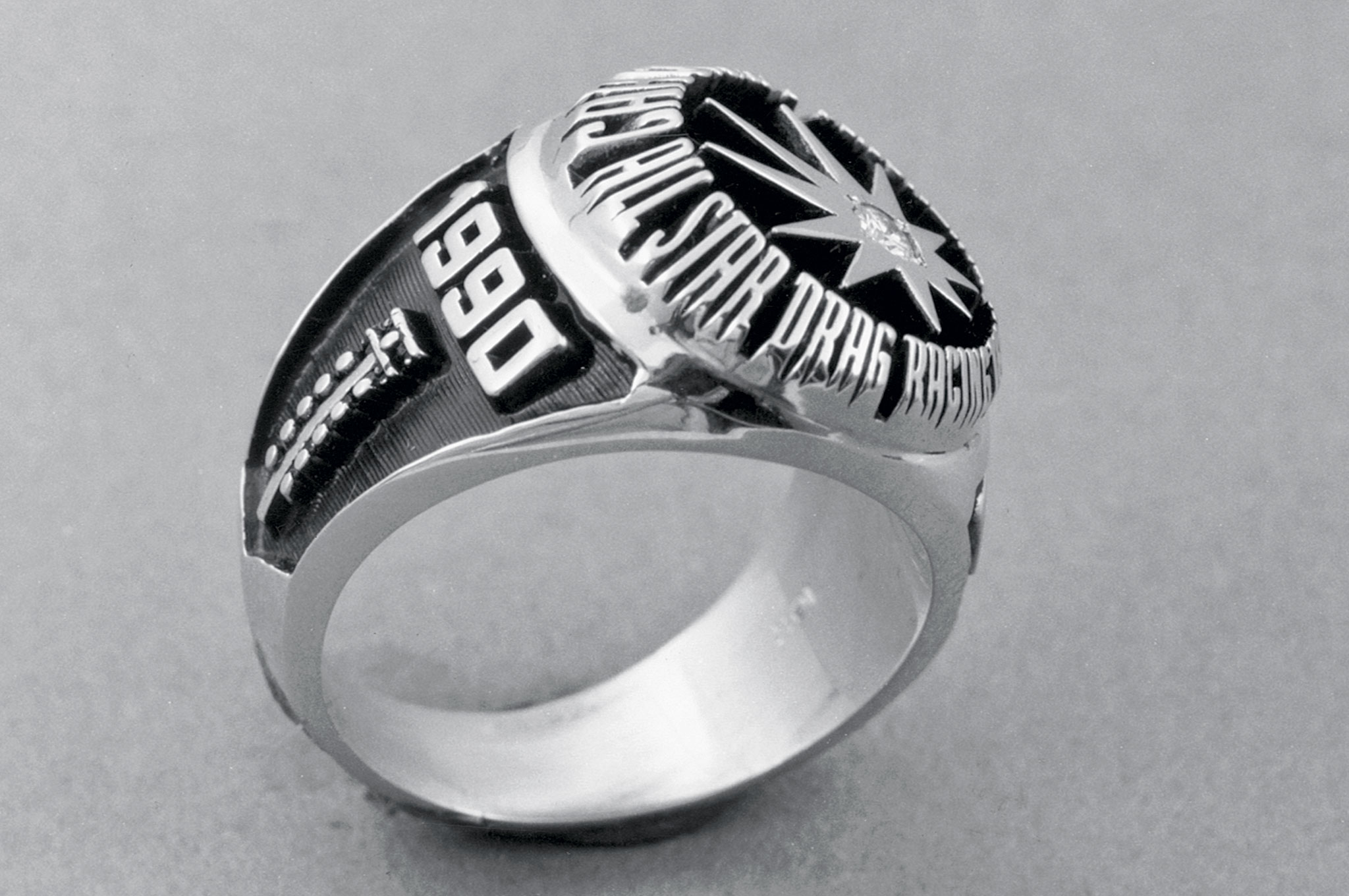 Like everything else, the rings that were emblematic of membership on the All-Star Team changed over the years, ultimately becoming these marvels in the mid-'80s.