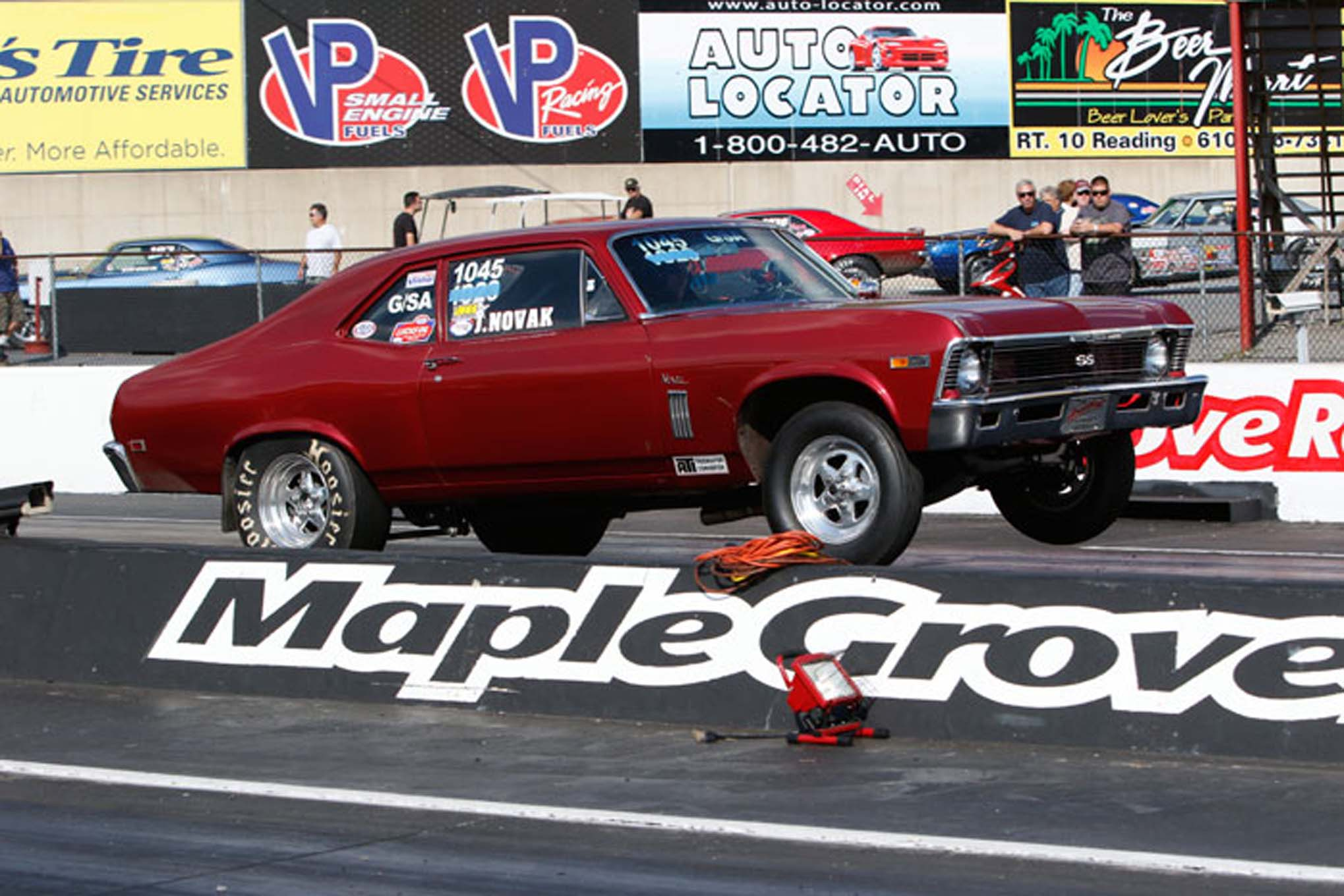 After a long hiatus, Jack Novak has returned to Stock Eliminator with this small-block 350 Nova.