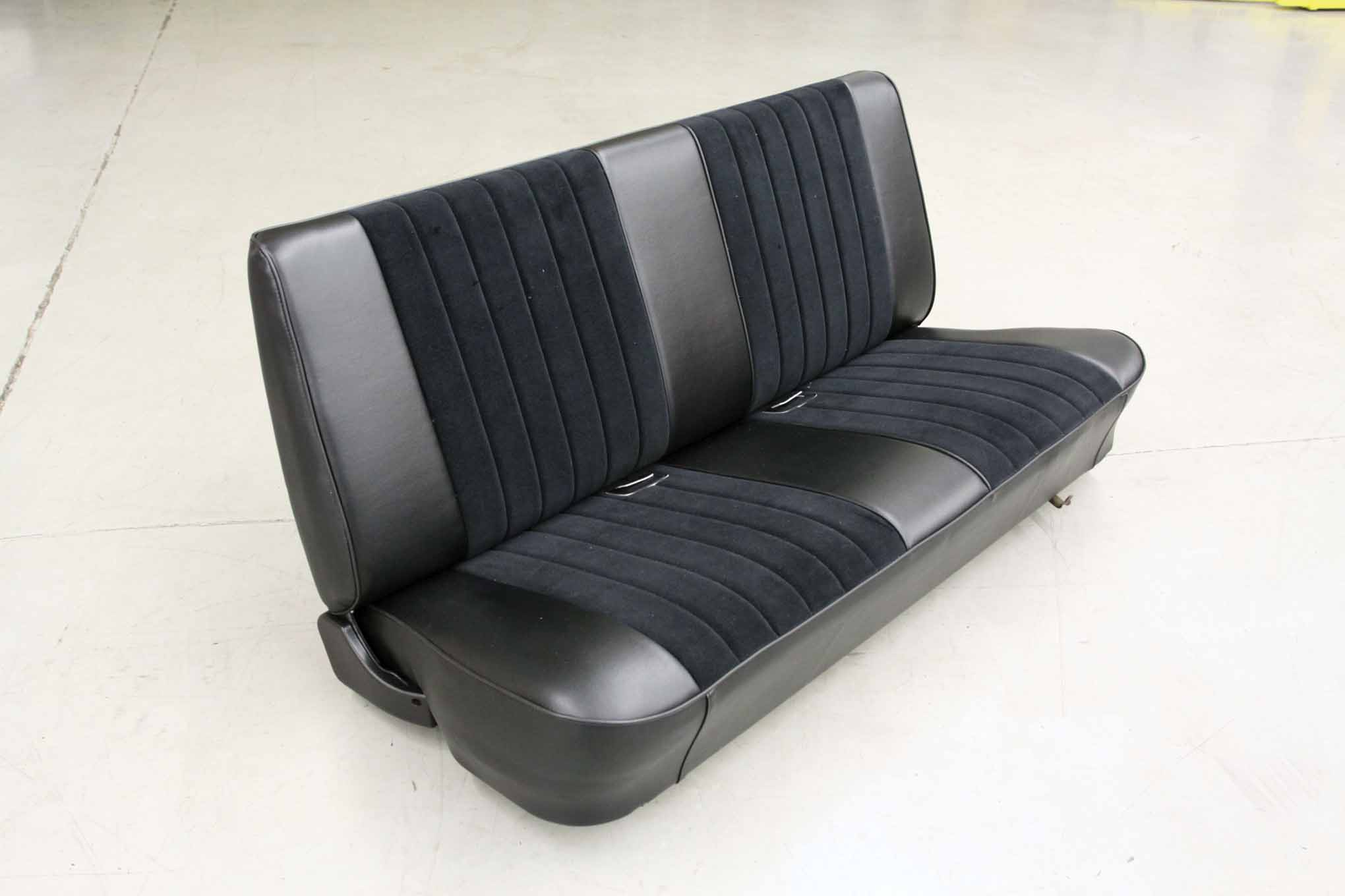 California Auto Upholstery in Garden Grove, California, proved the LMC Truck re-upholstery kit can be installed to look as nice as a custom-upholstered seat costing much more. Take your time, pay attention to detail, and you can achieve the same professional results.