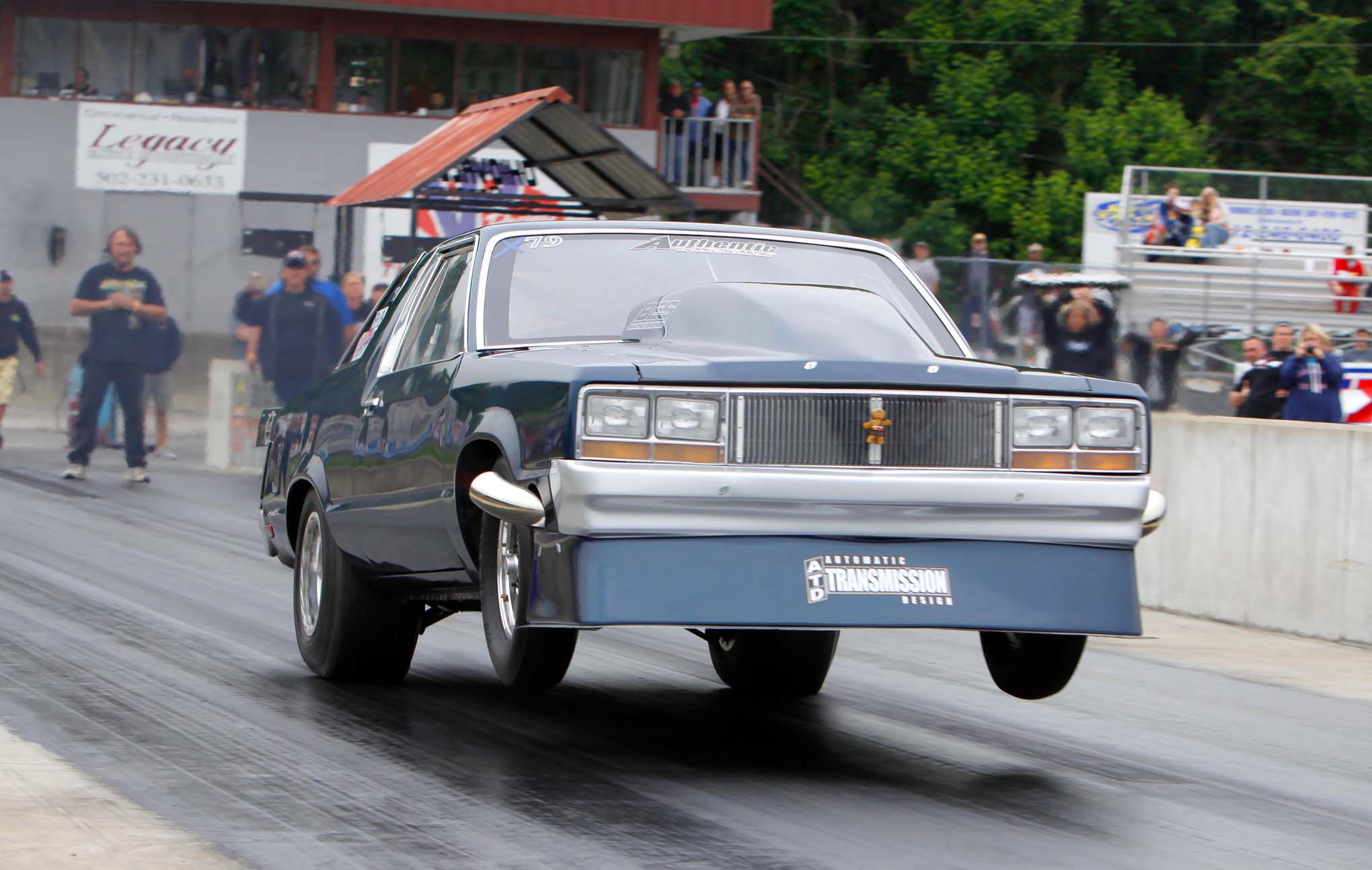 Jimmy Plimpton recently ran a personal best 4.55 at 154 mph in his X275-class Fairmont.