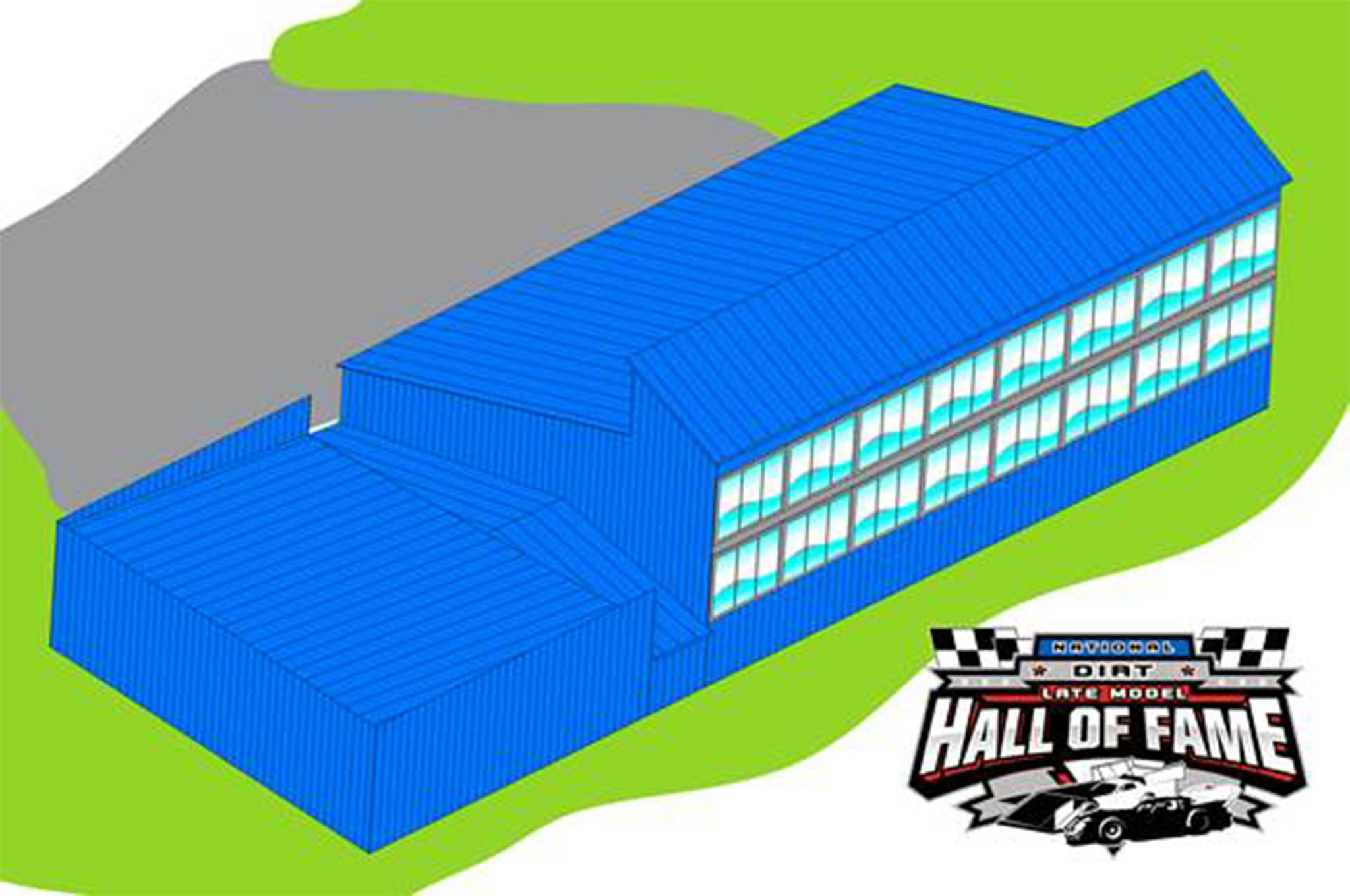The National Dirt Late Model Hall of Fame is making a push to upgrade its facility.  Check their web site for more information.