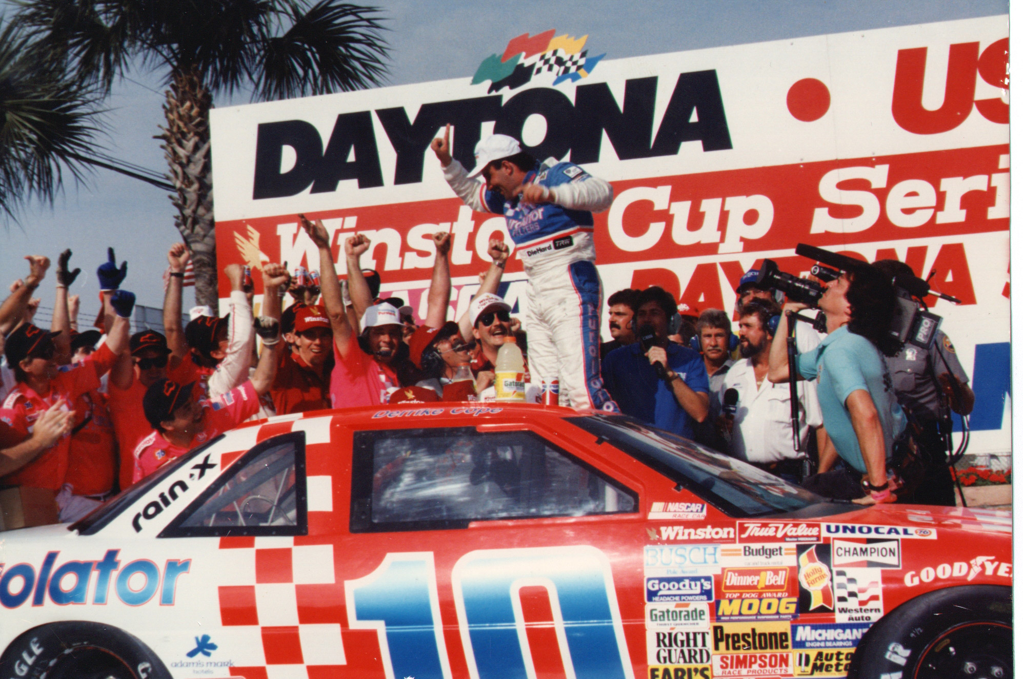 In the early '90s Automotive Specialists' intake work was sought after at the highest levels of American motorsports. In 1990, Dorton's company supplied 20-plus NASCAR Winston Cup cars intakes for the Daytona 500, including winner Derrick Cope.