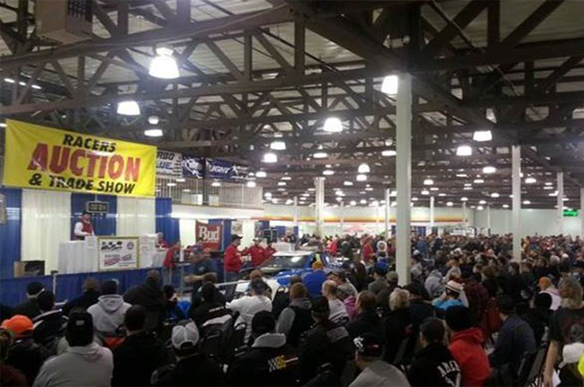 There are some good regional shows like the Midwest Racers' Auction and Expo. These shows give you a better chance to run into people you know, and maybe a chance to bend the ear of your promoter.