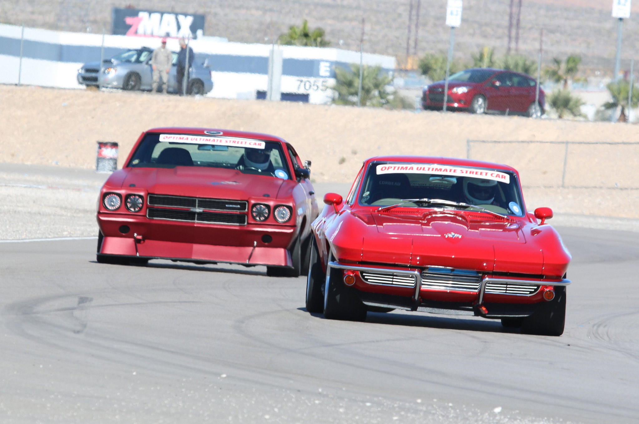 Greg Thurmond's incredible 1964 Corvette, Scar, was located in the K&N Filters booth at SEMA and was one of ten vehicles selected from the show to compete in the OUSCI.