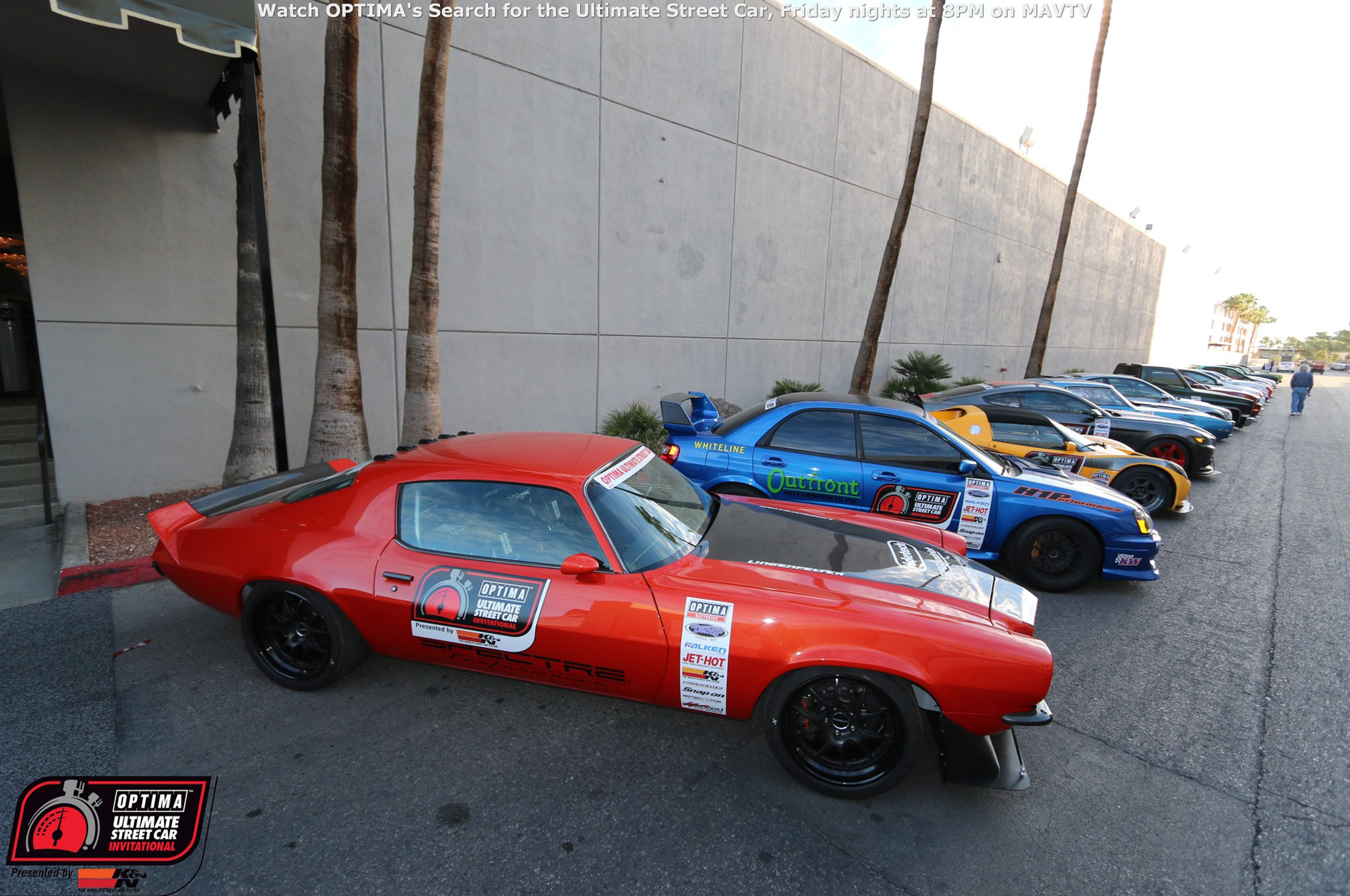 Every competitor that qualified for the OUSCI was guaranteed a spot in OPTIMA Alley at the SEMA show, a valuable perk that makes sponsors happy!