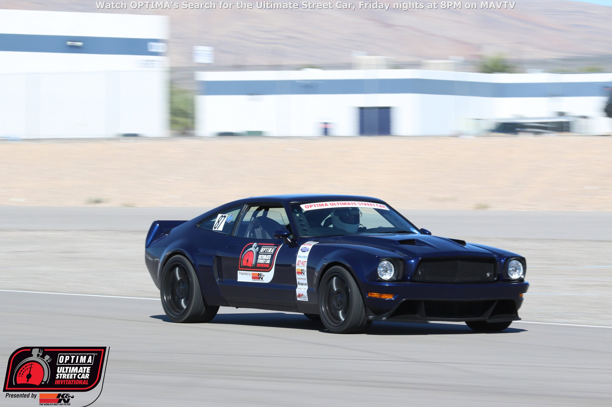 Brett Behrens' 1978 Ford Mustang II was one of a handful of vehicles selected off the SEMA Show floor to compete in the event. It was a tall task for the Triton V10-powered pony car and it performed far better than most. The Mustang captured second place in the Lingenfelter Design & Engineering Challenge and finished 46th overall.