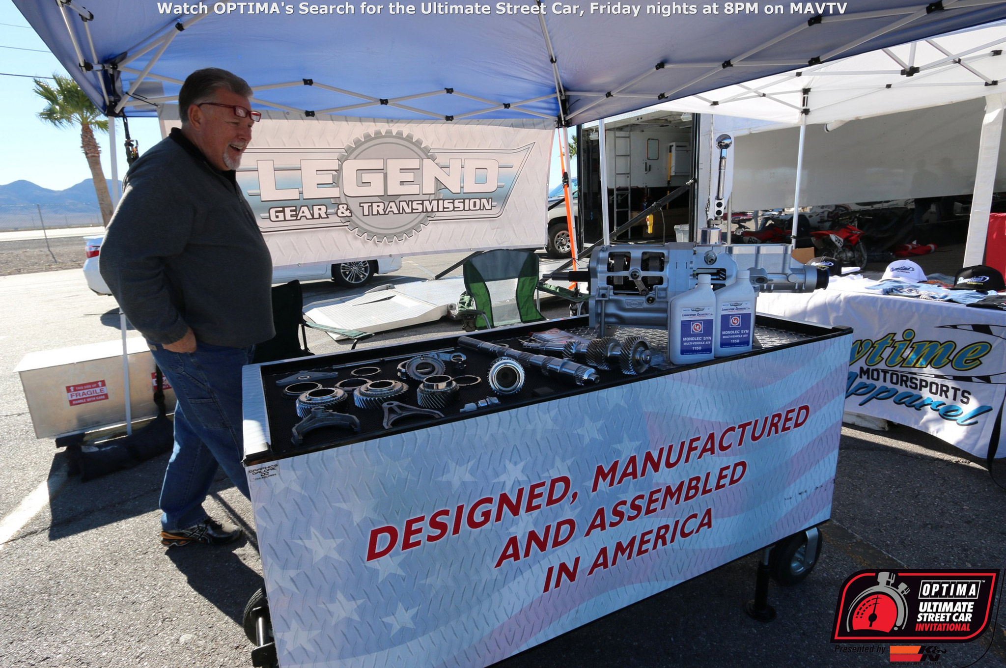 Legend Gear & Transmission is one of many great sponsors of the series and the OUSCI. Jack Simms' company has sponsored several vehicles in competition with their LGT-700, five-speed transmission.
