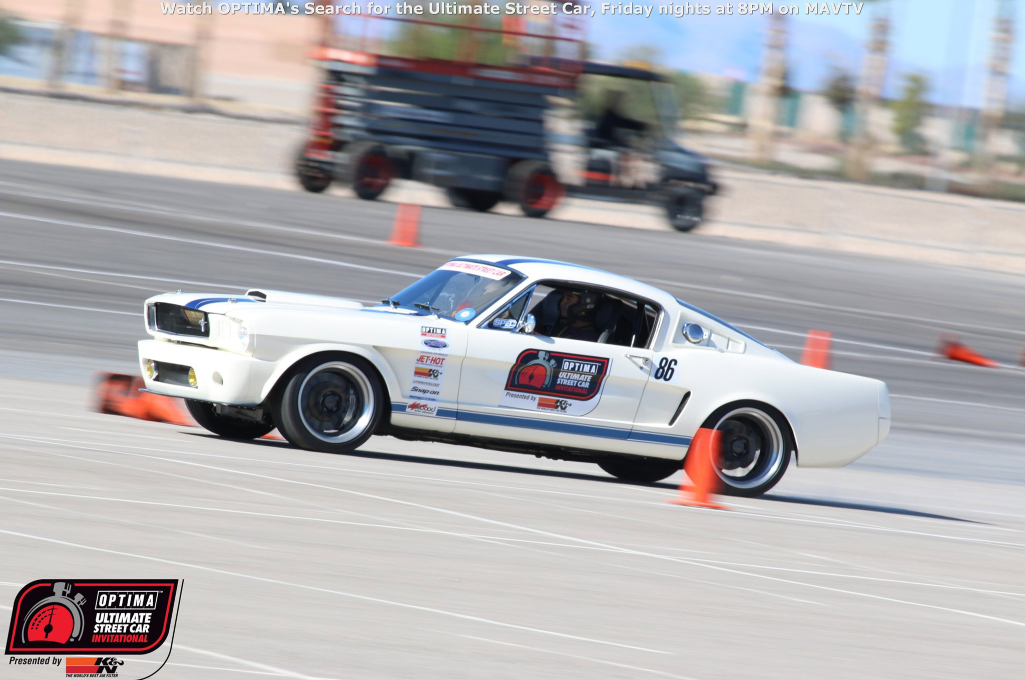 Matt Alcala literally had less than two miles on his '65 Fastback when he received his golden ticket invitation at the SEMA Show. Alcala is an OUSCI veteran, so he built the car to run, even though he didn't even have time to bed the brakes before the show.