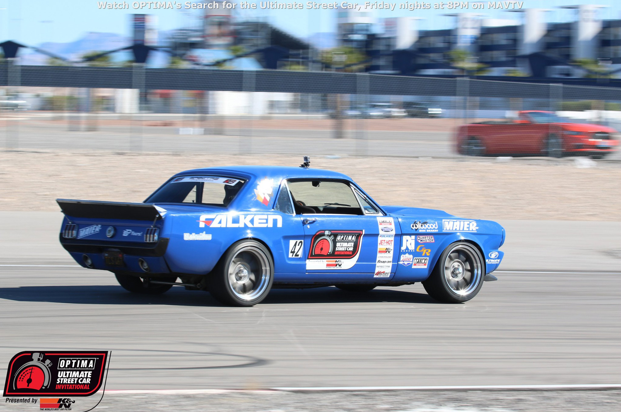 Mike Maier's '66 Mustang was the top Ford in the field, finishing 12th overall. His performance underscores how tough this field is, as he bettered his time on the Falken Tire Road Course Time Trial by more than 1.5 seconds over 2014, but finished four positions lower than the previous year.