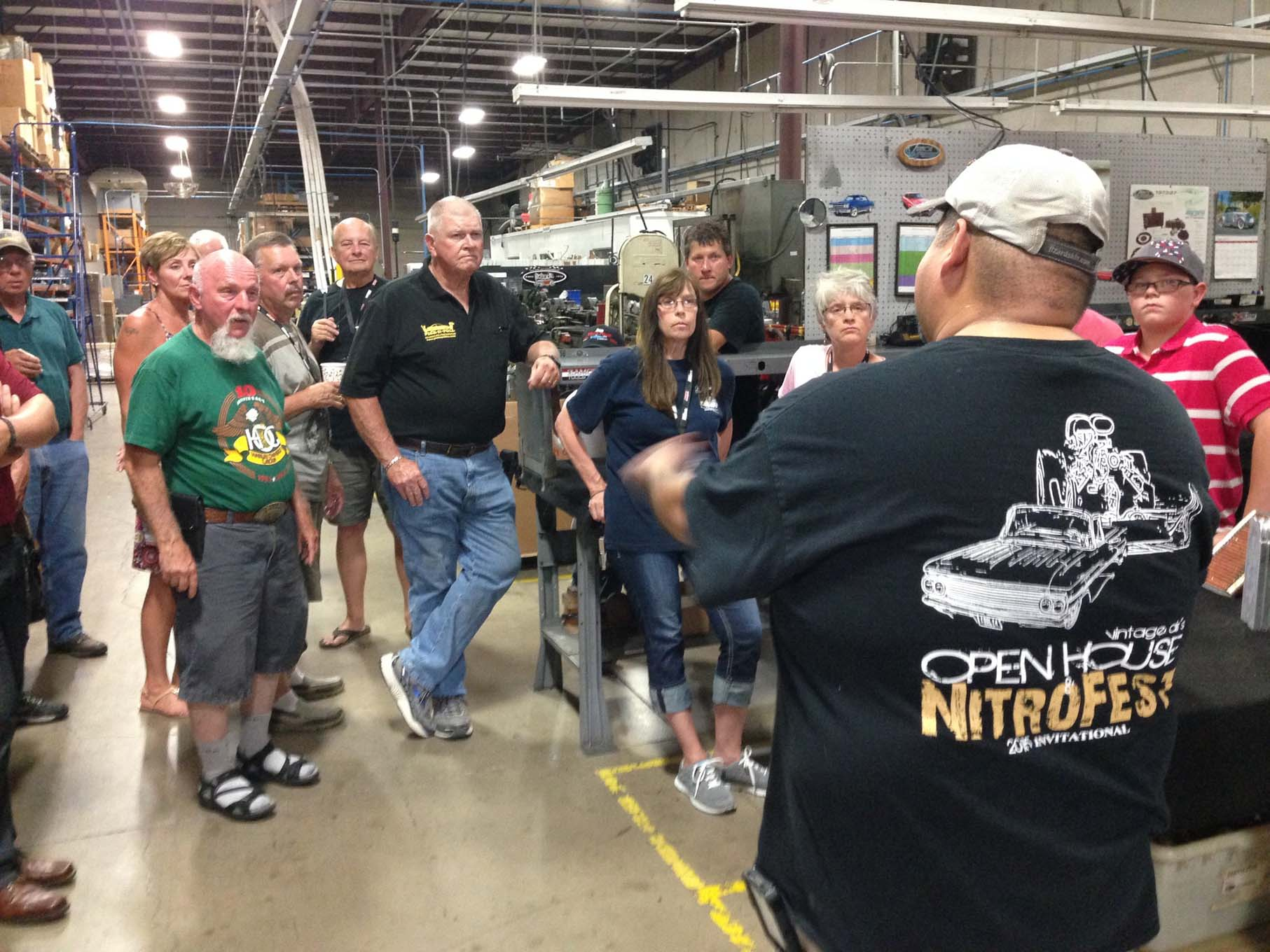 On Saturday evening all the tour participants got together at Vintage Air headquarters in San Antonio. The wiener roast is an annual tradition and then we got a look at the production facilities at Vintage Air.