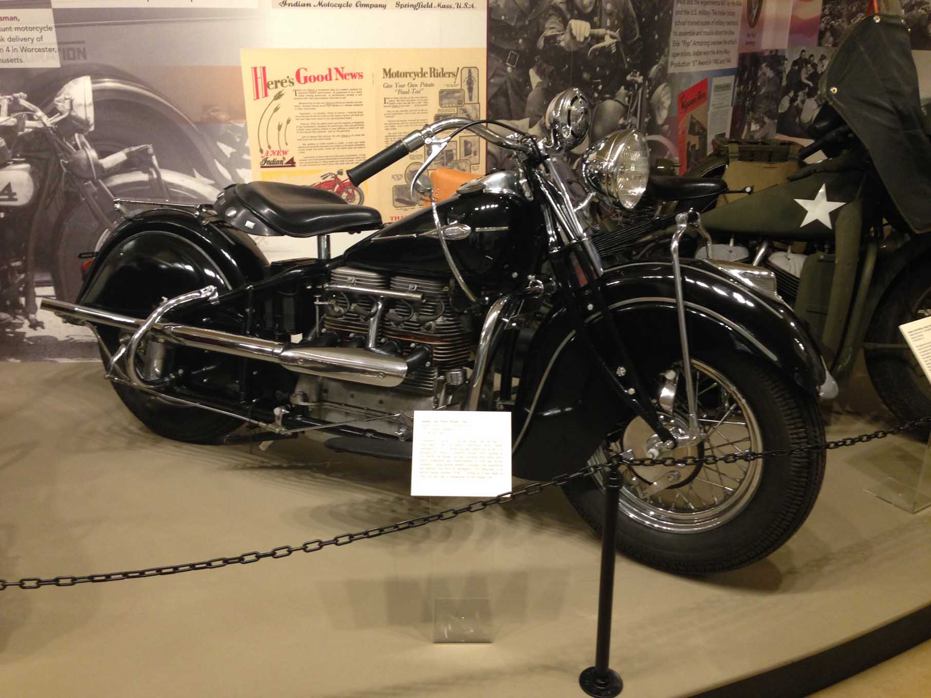 Sunday we visited a number of museums in Springfield, MA. Springfield was an industrial hub in the early years of our nation's history. It was the home of the Indian motorcycle and for a number of years Rolls-Royce vehicles were produced in Springfield.