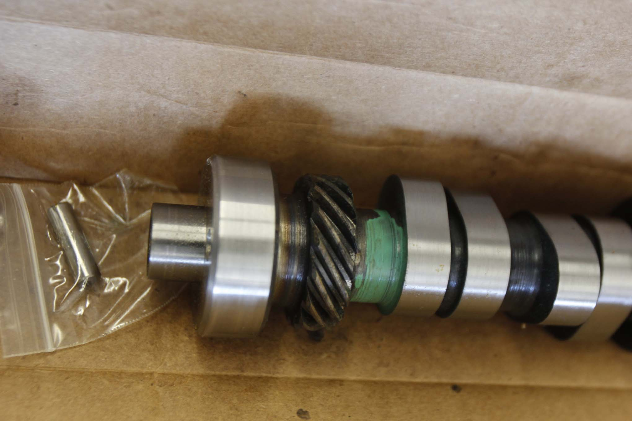 Dollar for dollar, the biggest change in engine performance comes from changing the cam. We chose this hydraulic roller cam from Ford Performance that offers 224 degrees duration at 0.050, 0.480-inch lift with 1.6:1 rocker arms (which is the stock ratio). Known as the B303 cam, it's made from an austempered ductile iron billet core, not steel, so a coated, hardened distributor gear is compatible.