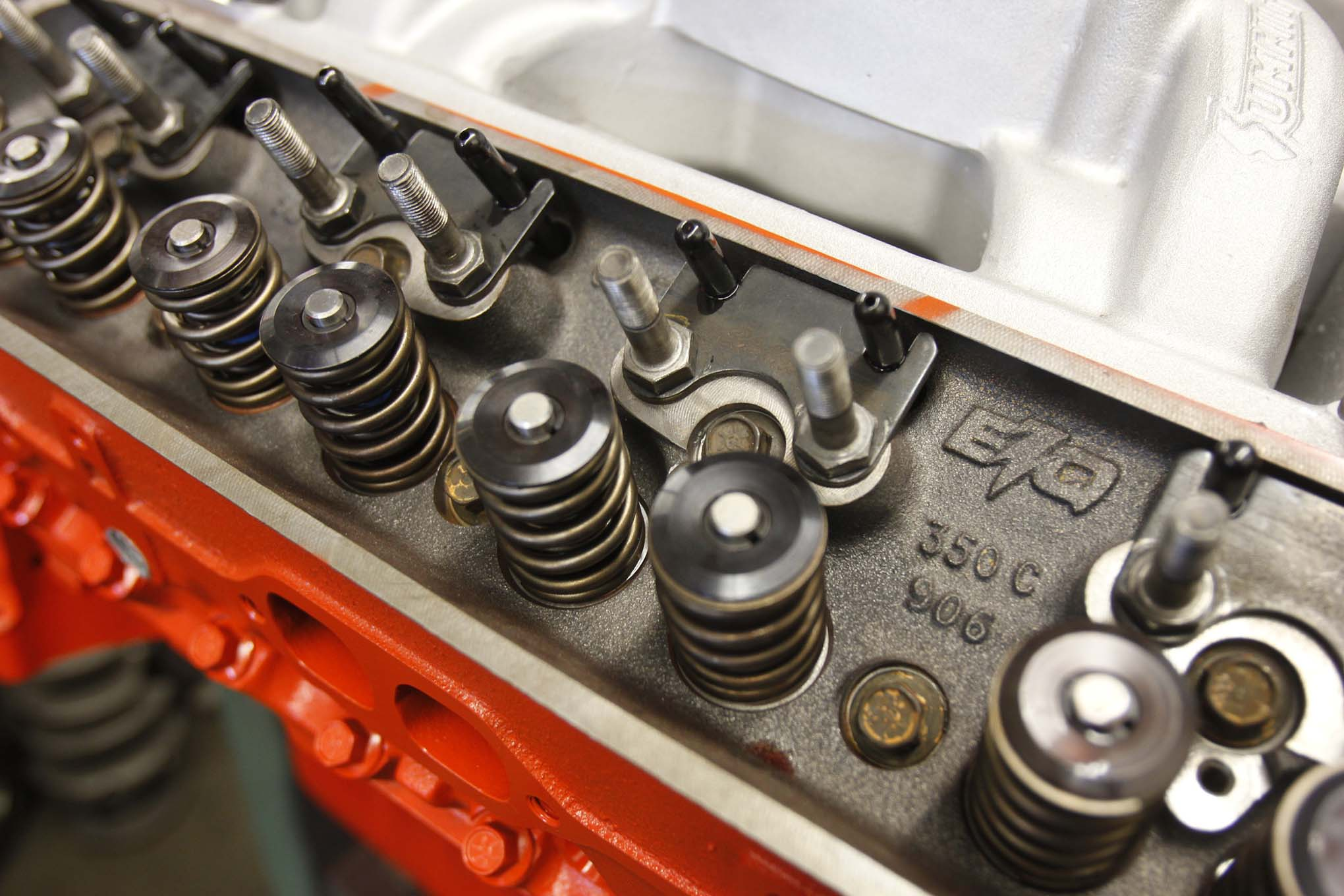 We took things a step further by changing the springs for even more lift. This let us slide in a Trick Flow's hydraulic roller cam with 230/234 degrees duration at 0.050 and 0.530-/0.540-inch valve lift with 1.5:1 ratio rocker arms. Compare those specs to the cam we used in our previous build: 196/206 degrees duration at 0.050 and 0.431/0.451-inch valve lift.