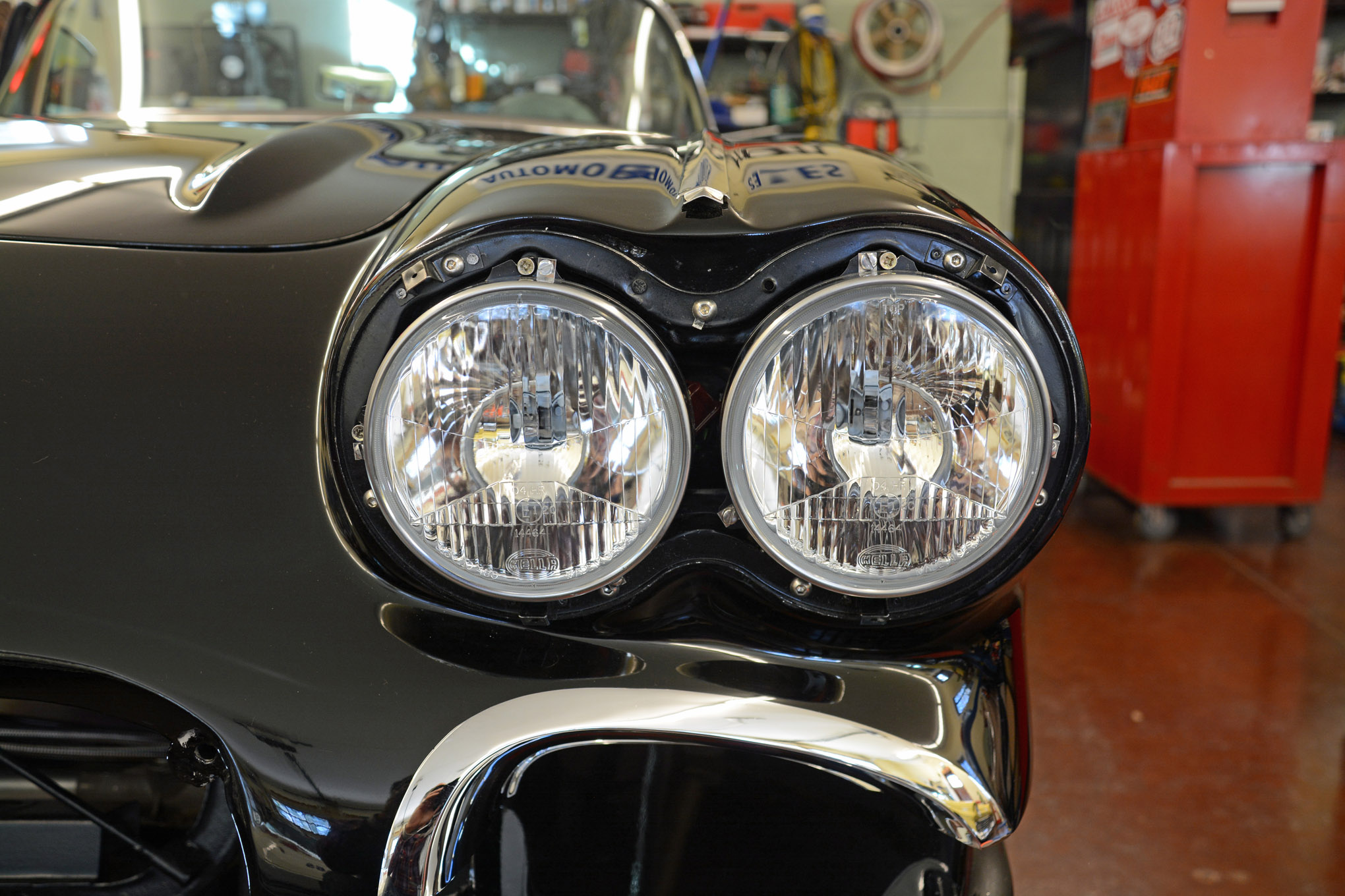 Converting 1958 1970 Chevy Headlights To Halogen Hot Charging System Wiring Rod Network