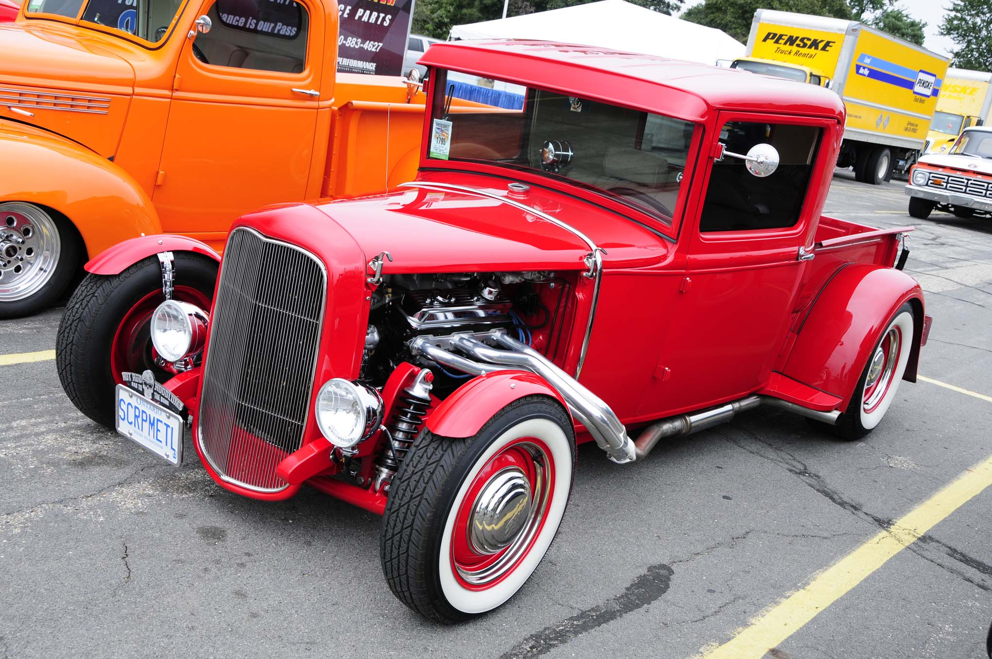 Don Wilson's low-slung 1930 Ford pickup had tons of style with its channeled body, bobbed rear fenders, Deuce grille, and small-block power.