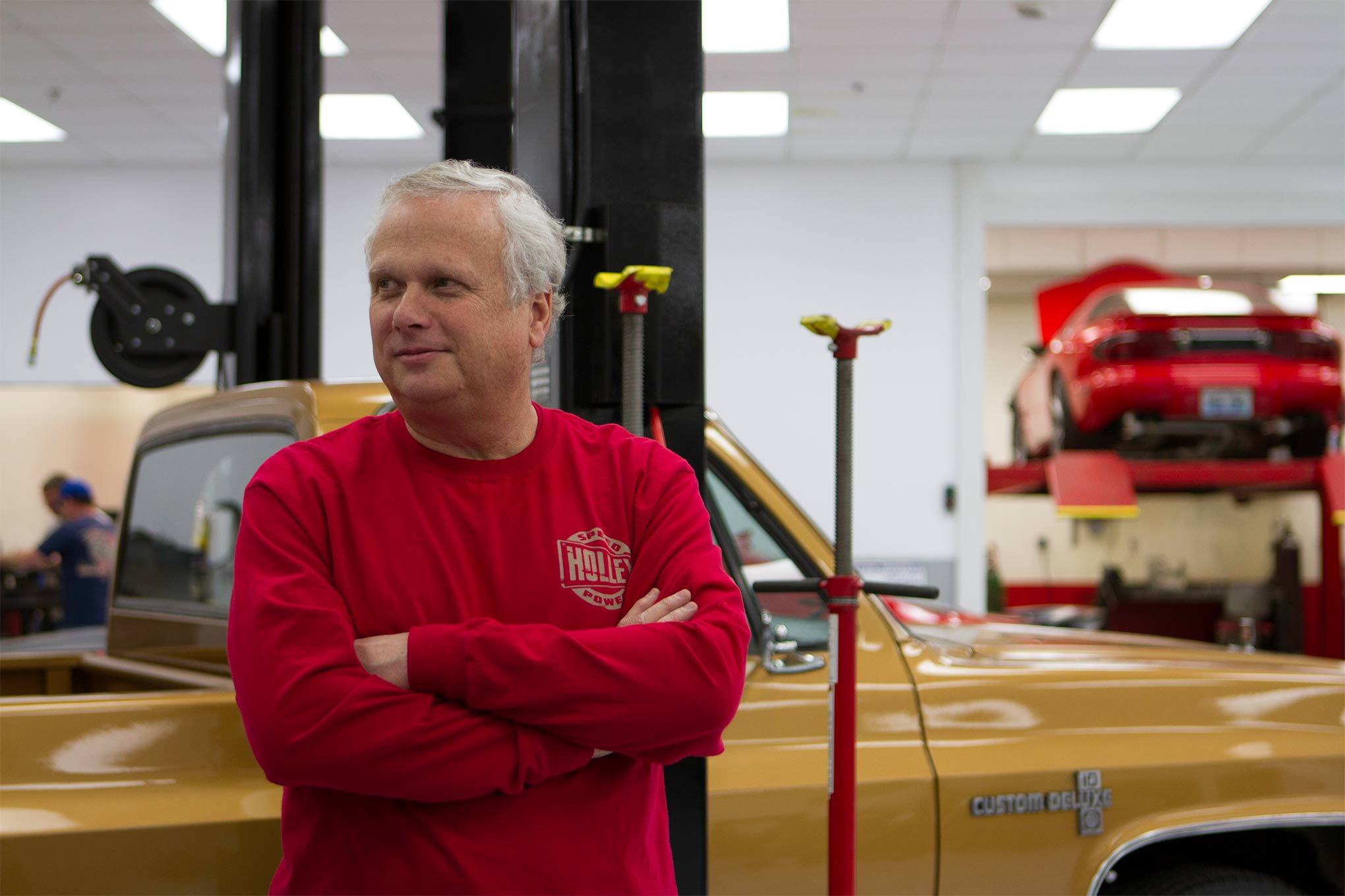 Tom Tomlinson is a gearhead to the core. He TIG-welds, wrenches, and designs his own parts. So when Holley tools up a new floorpan to put a T56 six-speed in a second-generation F-car, know that it's because its CEO needed one for his swap—and we all get the benefits of a car guy running a large aftermarket company.