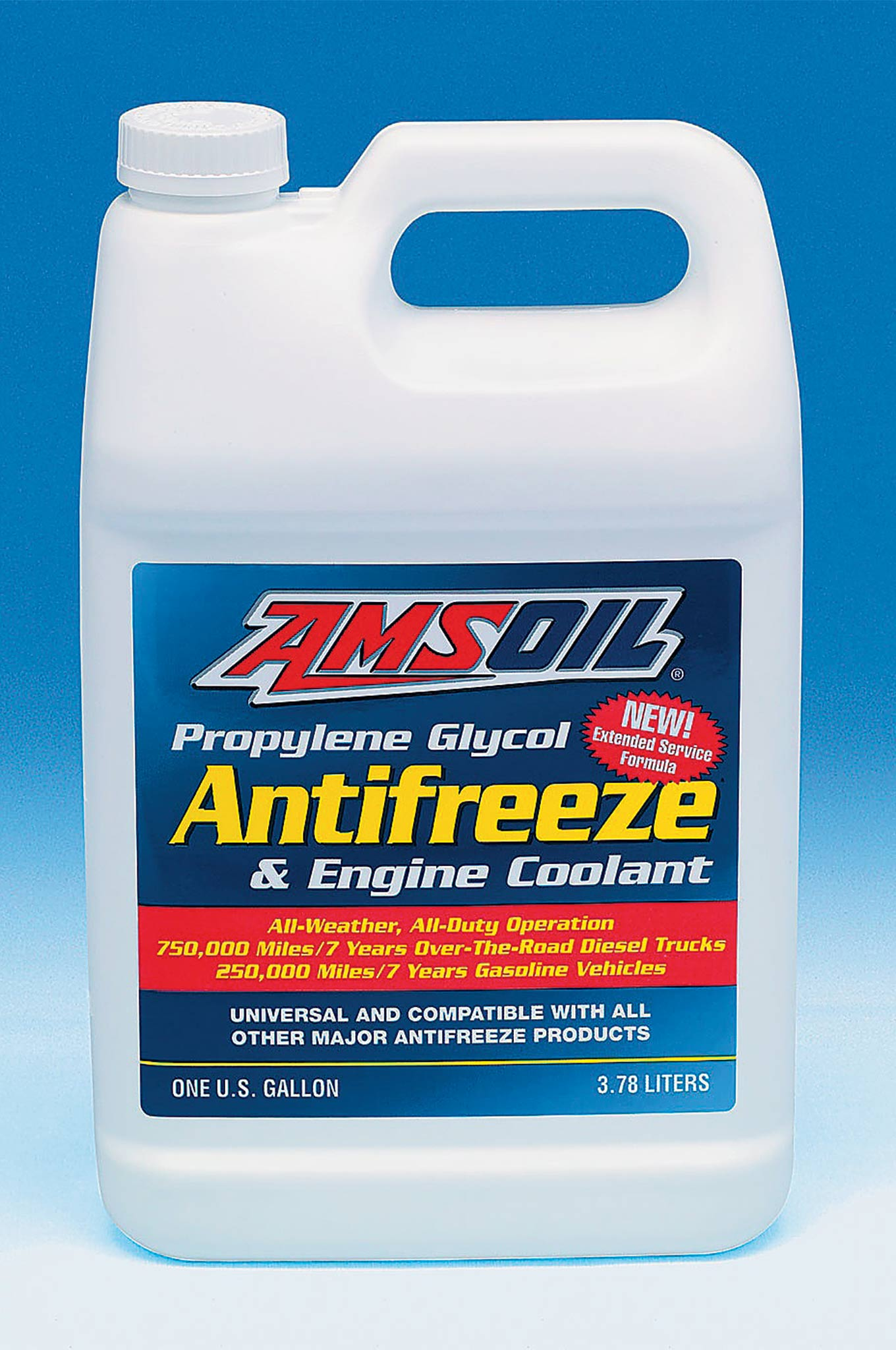 AMSOIL also offers Propylene Glycol Antifreeze and Coolant (ANT) that is biodegradable and its low toxicity limits poisoning risks. The unique organic acids that are used form a protective layer that prevents corrosion on metal components. Independent tests reveal it greatly surpasses standards for metallic corrosion and erosion, achieving nearly perfect scores in ASTM corrosion and erosion testing on cast aluminum cylinder heads, steel, copper, solder, brass, and cast iron and aluminum water pumps.