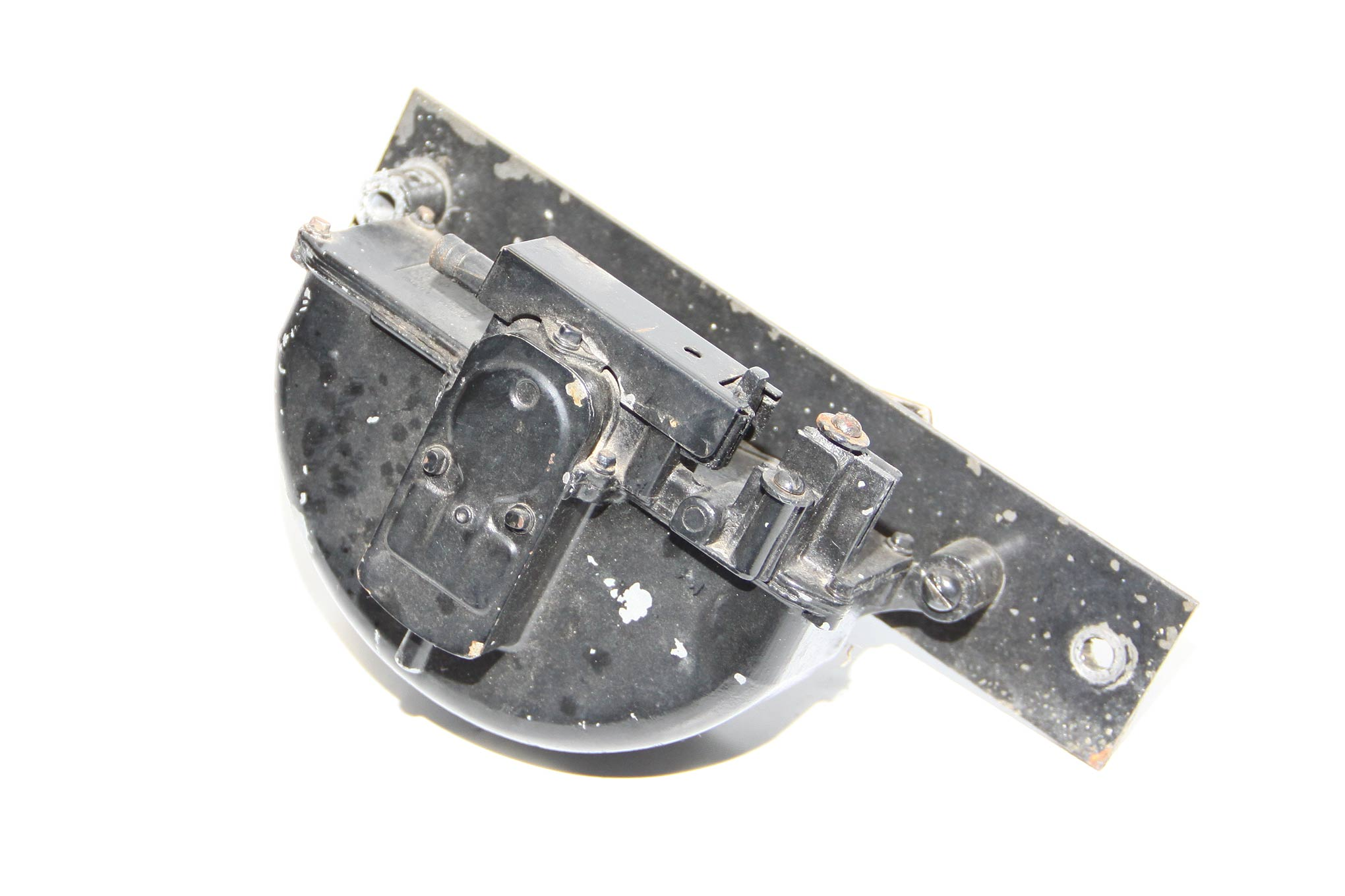 The original wiper motor was removed along with the mounting bracket that attached to the firewall.