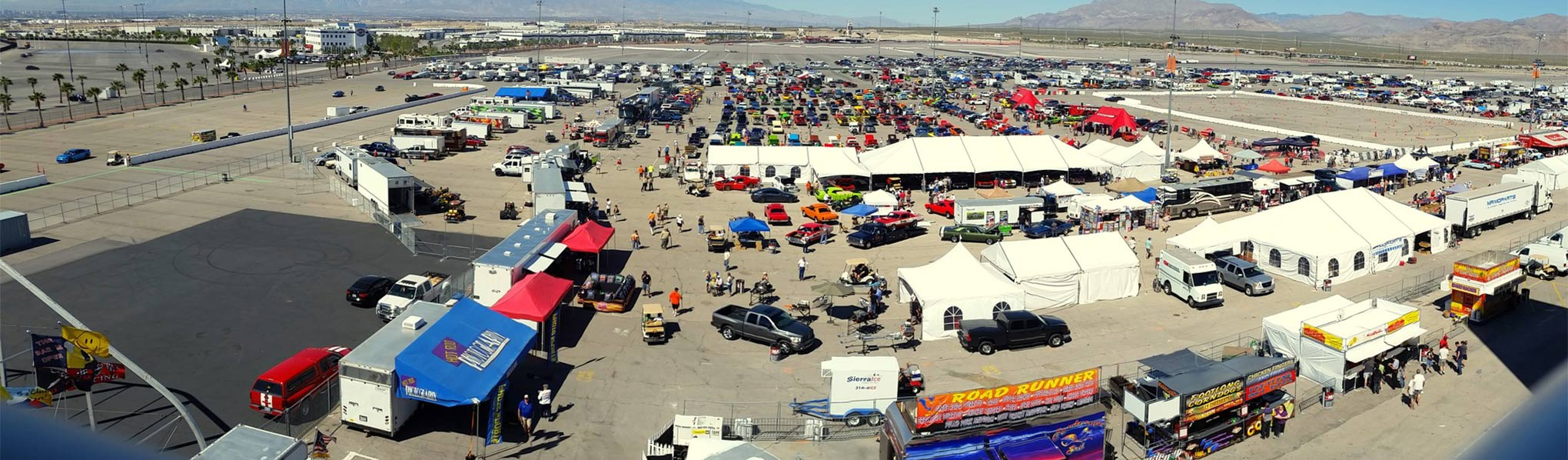 """The event we all know as """"Mopars at the Strip""""—also called as MATS—is headed to Las Vegas again on March 18 - 20, 2016. We'll be there covering the action, but more importantly, we'll be holding our Scat Pack Challenge!"""