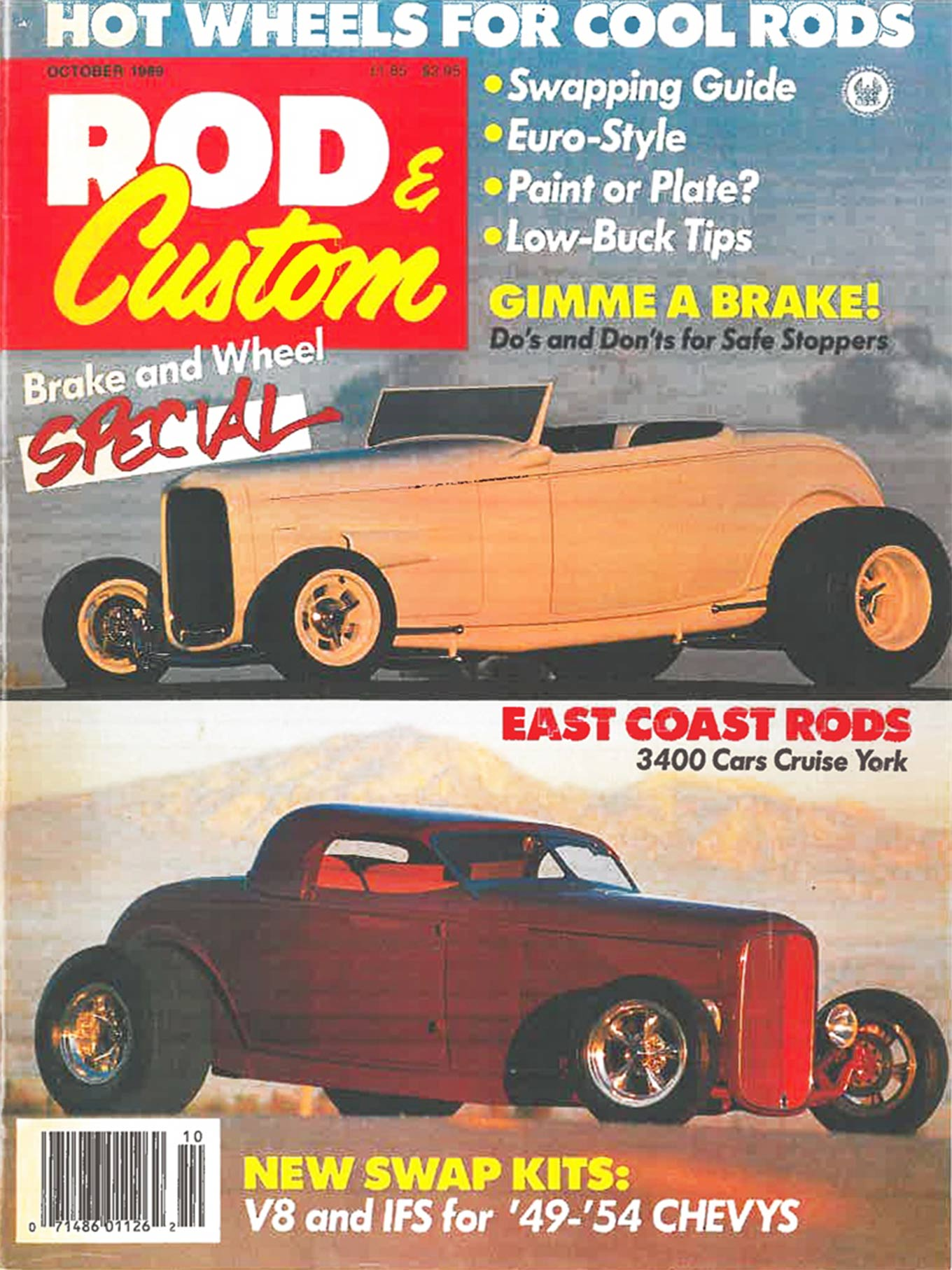 The roadster was back on the cover of Rod & Custom only two issues after is first appearance.