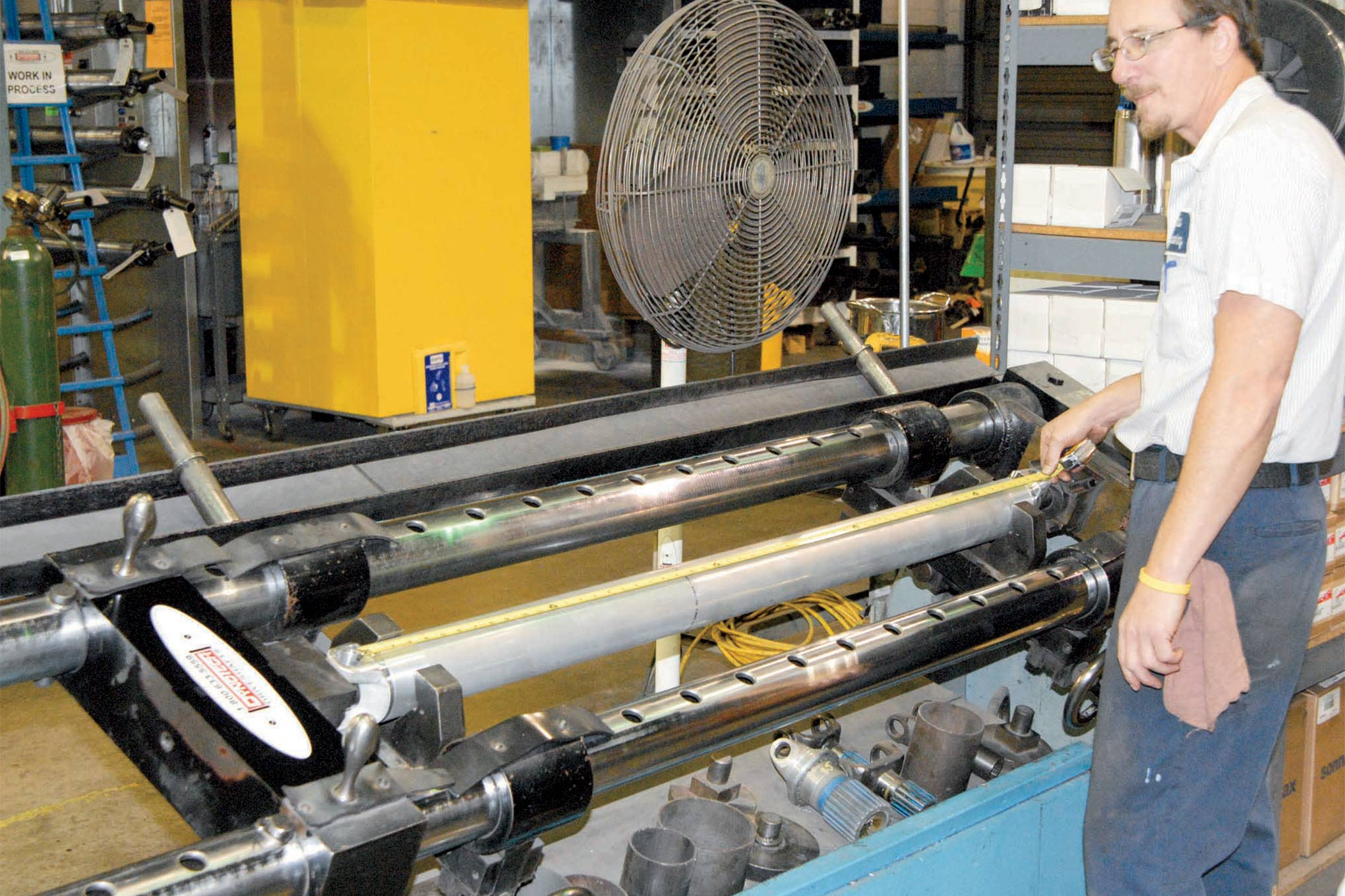 Dynotech's driveshafts are custom made and guaranteed vibration-free, and they stand by their work 100 percent. All of their driveshafts are assembled by hand while using modern technologies, such as computer welding and high-speed balancing.