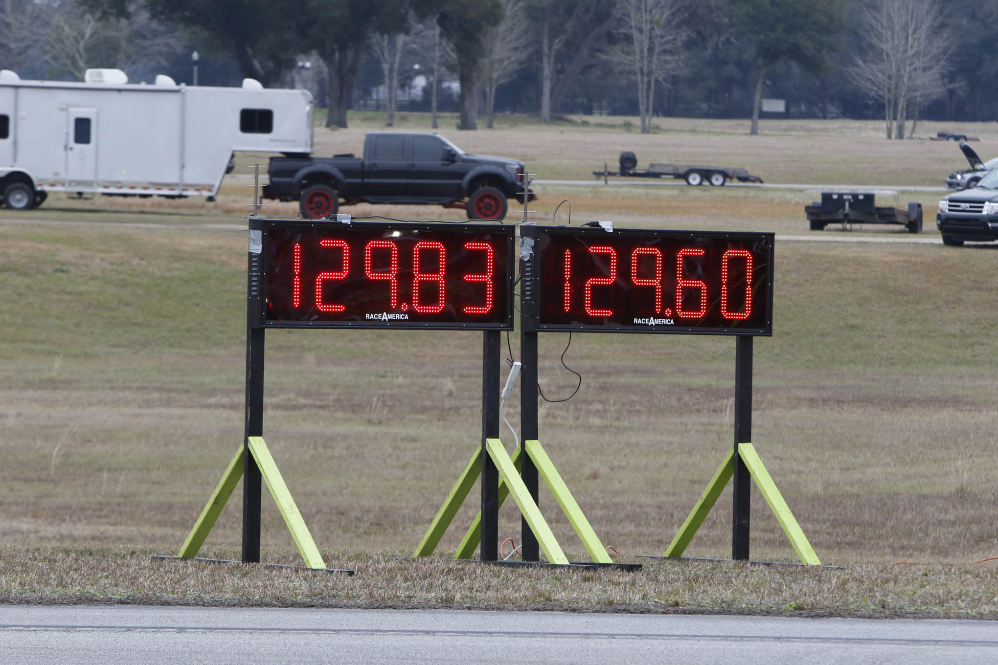 This Mustang sported a 2.9L Whipple blower and a tune and ran 173 mph!