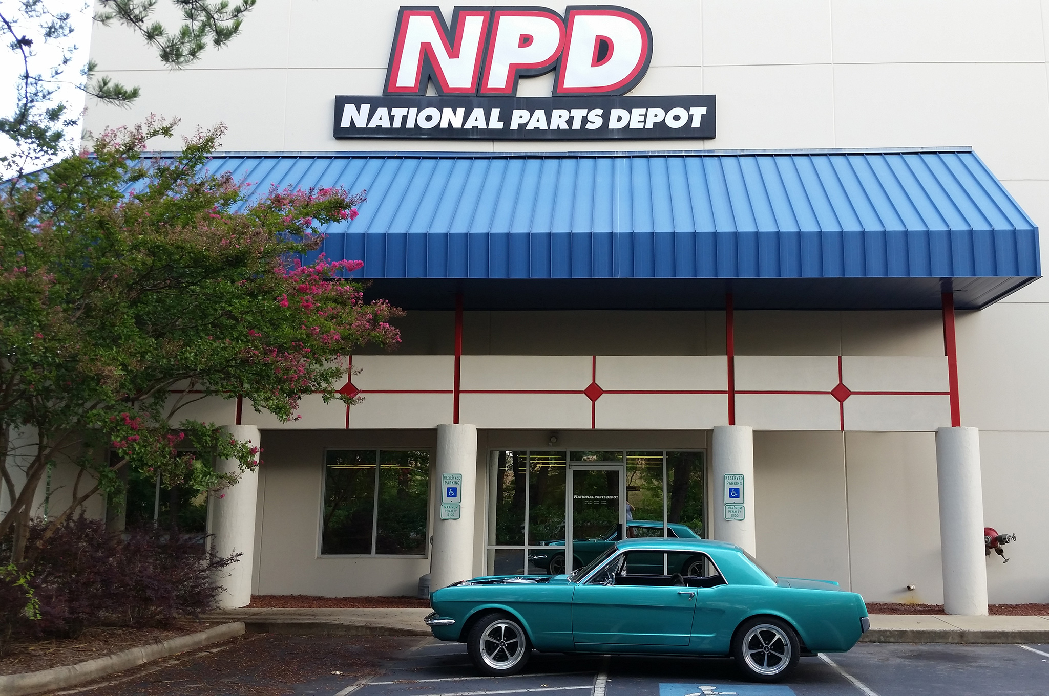We would be remiss without given a huge thank-you to Rick Schmidt and Derek Putnam at National Parts Depot for their involvement in the project and super-fast response time when we got stuck.