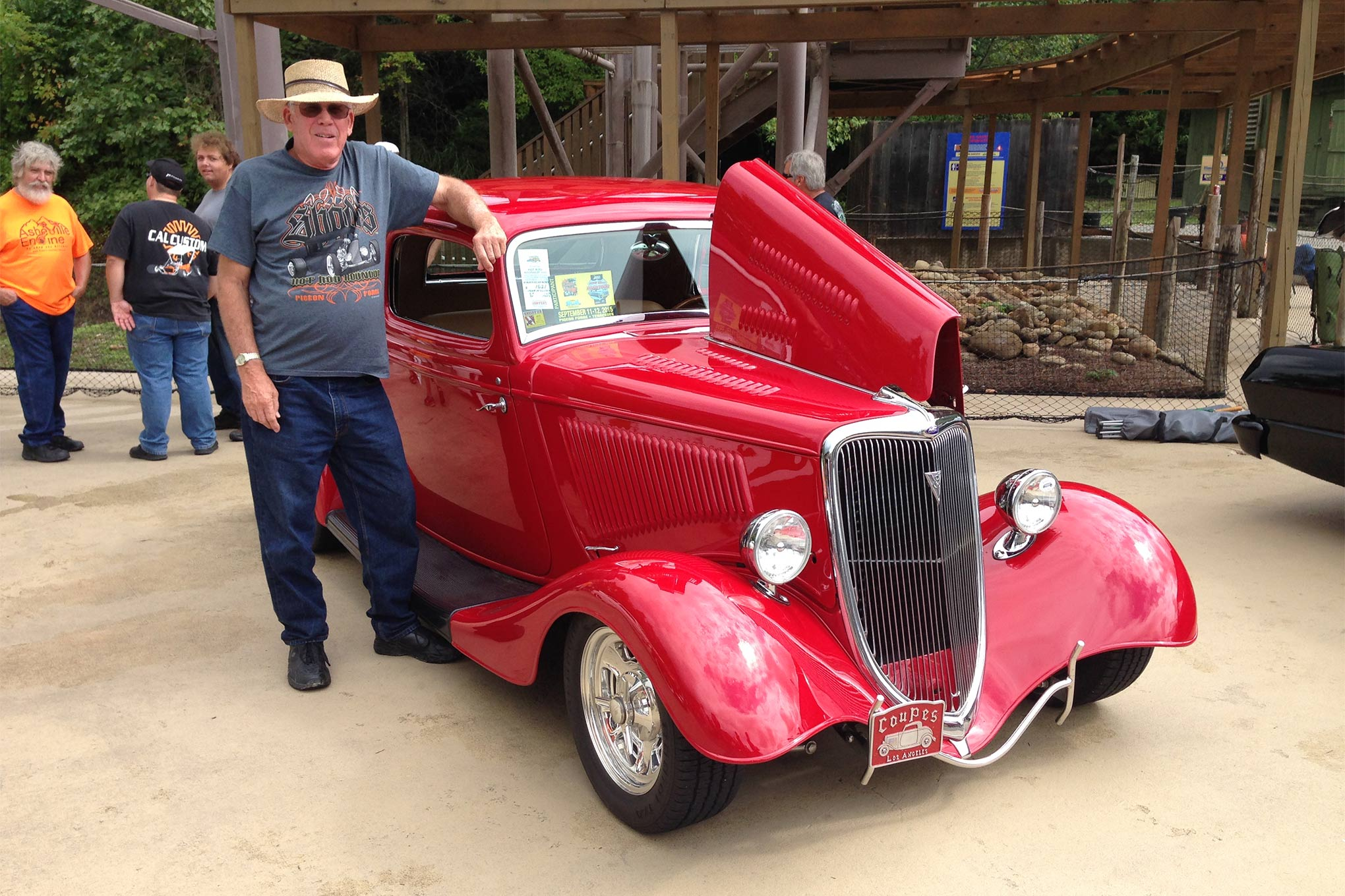 Mike McClung was the recipient of the first annual ARP/STREET RODDER Road Tour Award at the Hot Rod Roundup. Mike is from San Pedro, CA, but he spends many miles each year behind the wheel of his 1934 Ford. He has logged over 300,000 miles in the car since the '70s.