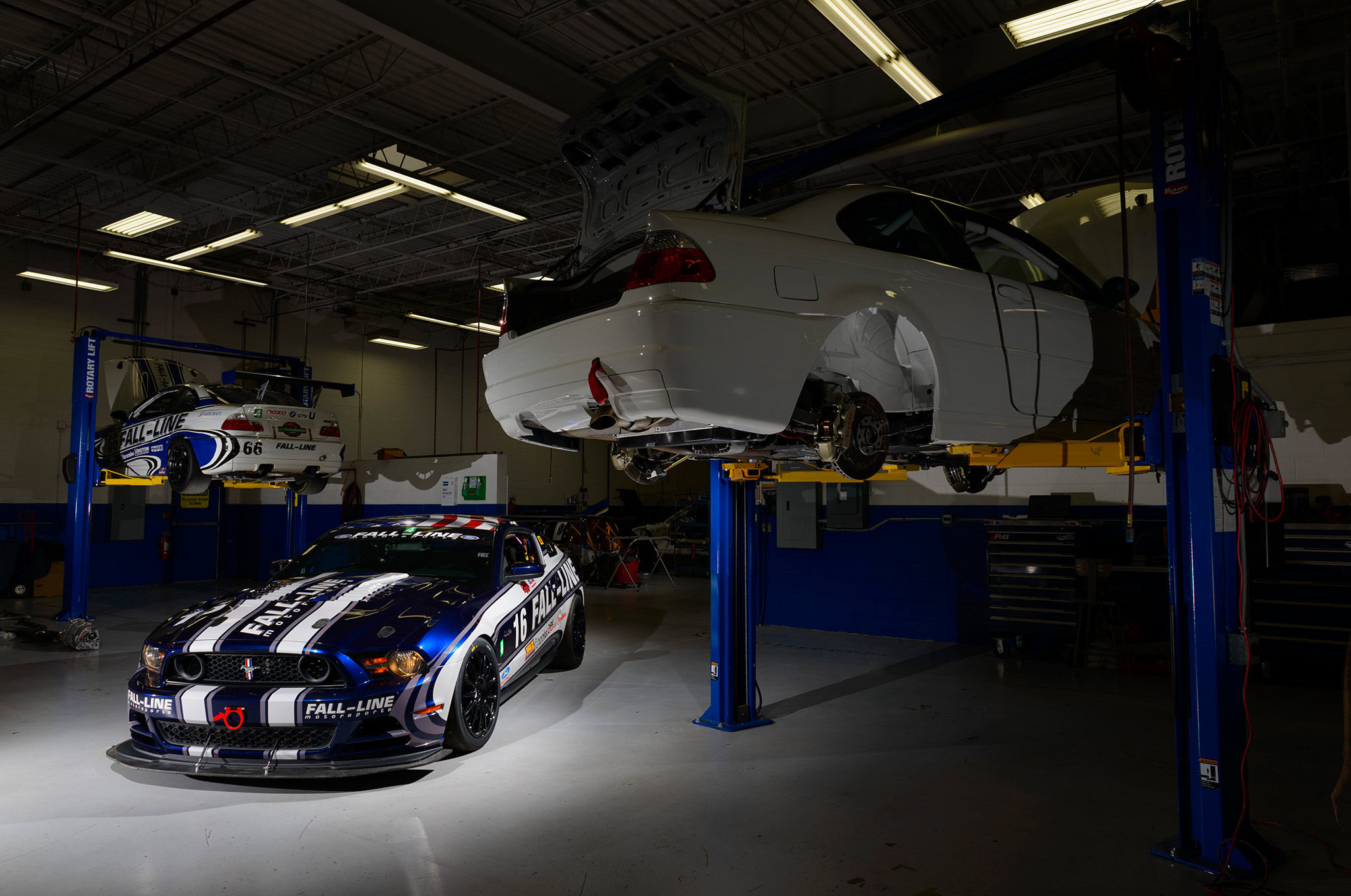 Fall-Line Motorsports is synonymous with building championship-winning German race cars, so when Thomas Herb commissioned Fall-Line to apply its build philosophy to a Mustang, the result was bound to be impressive.
