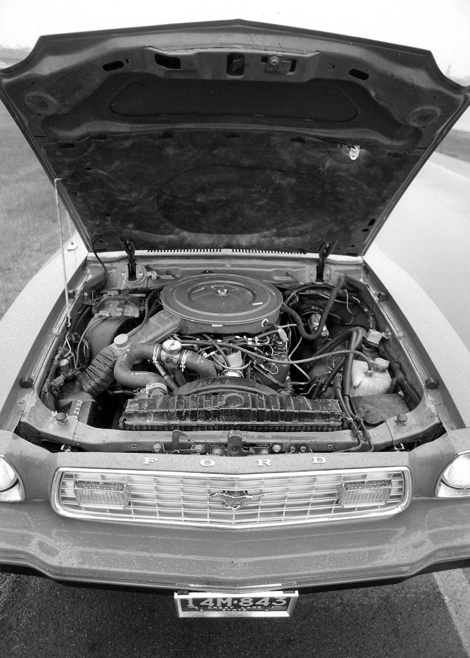 The Deuce got V-8 power for 1975, yet with mind-numbing emissions controls, including a catalytic converter and single exhaust. Although the 302-2V offered peppy performance in a featherweight Mustang, it was abundantly clear the 1960s were over.