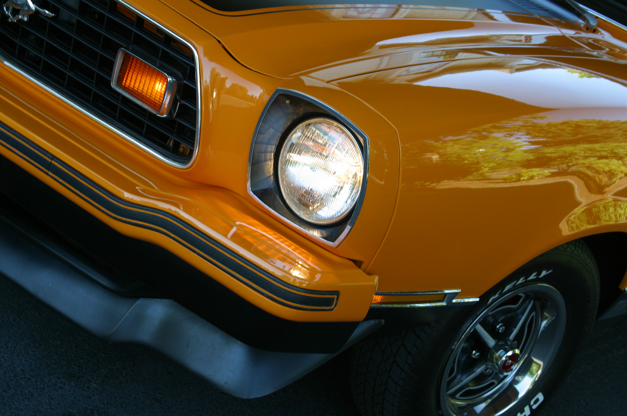 A Mach 1 for 1976 with nice Cobra II style appointments.
