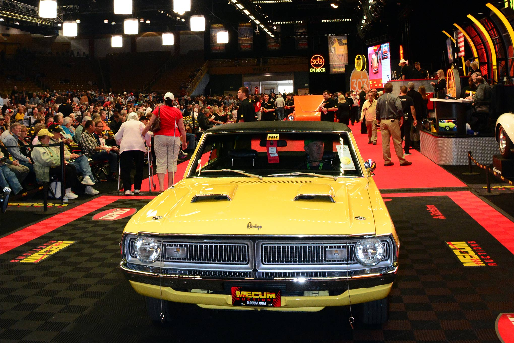 Among our favorites that did not make the Top 50 Mopars sold was Ray Dupuis' 1970 Swinger 340 from Canada. Hoping to see $10k (USD) out of the nicely-preserved car, it instead skyrocketed to $23,000 at the hammer on Thursday.