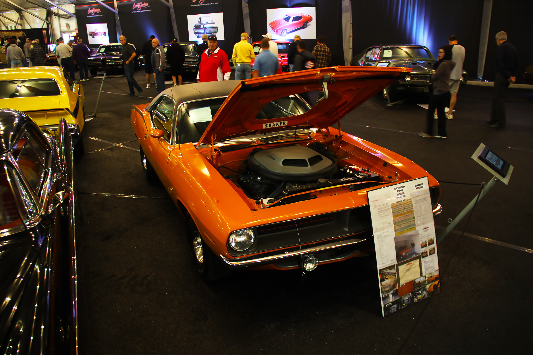 This original 1970 Hemi 'Cuda sold for $247,500.