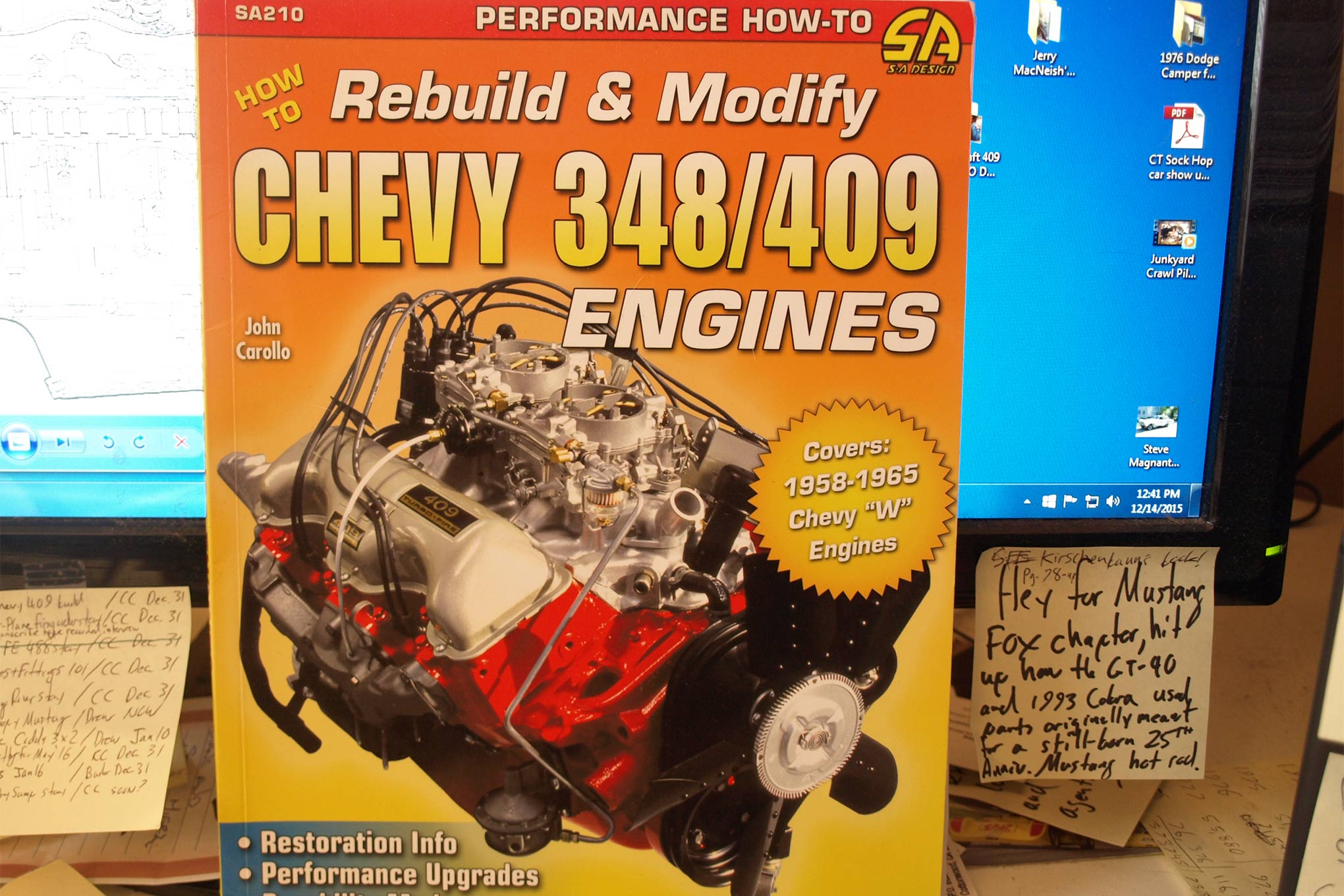 Grab a copy of John Carollo's 348/409 book from CarTech to learn more about Chevy's first big-block. From stock 250hp family haulers to 750hp Nostalgia Super Stockers, the book highlights the W-engine's history and potential.