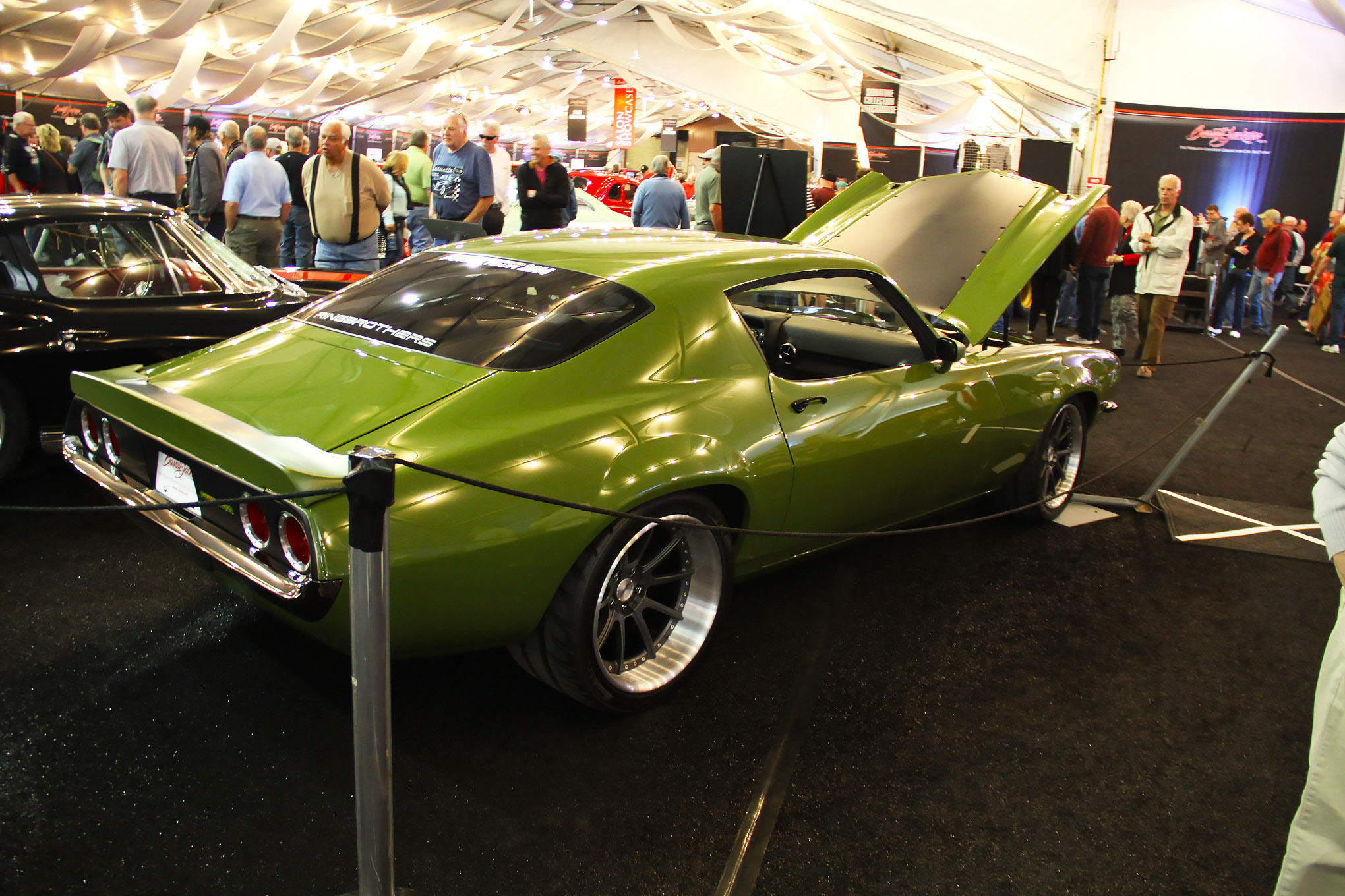 The Ringbrothers Grinch, a 1970 Camaro, went for $192,500.