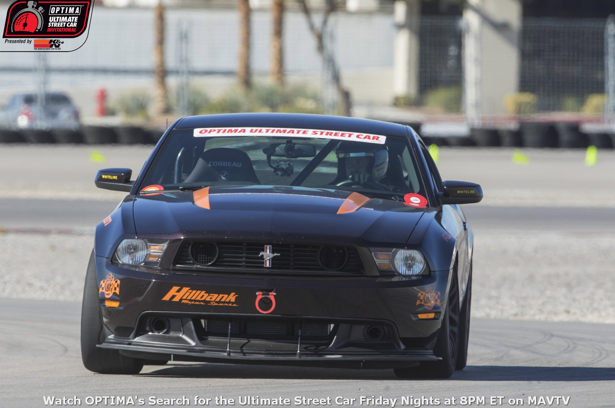 Andrew Nier's 2012 Mustang ran in three qualifying events in 2015 and received the coveted K&N Filters Spirit of the Event invitation to the OUSCI at the final qualifier at Auto Club Speedway.