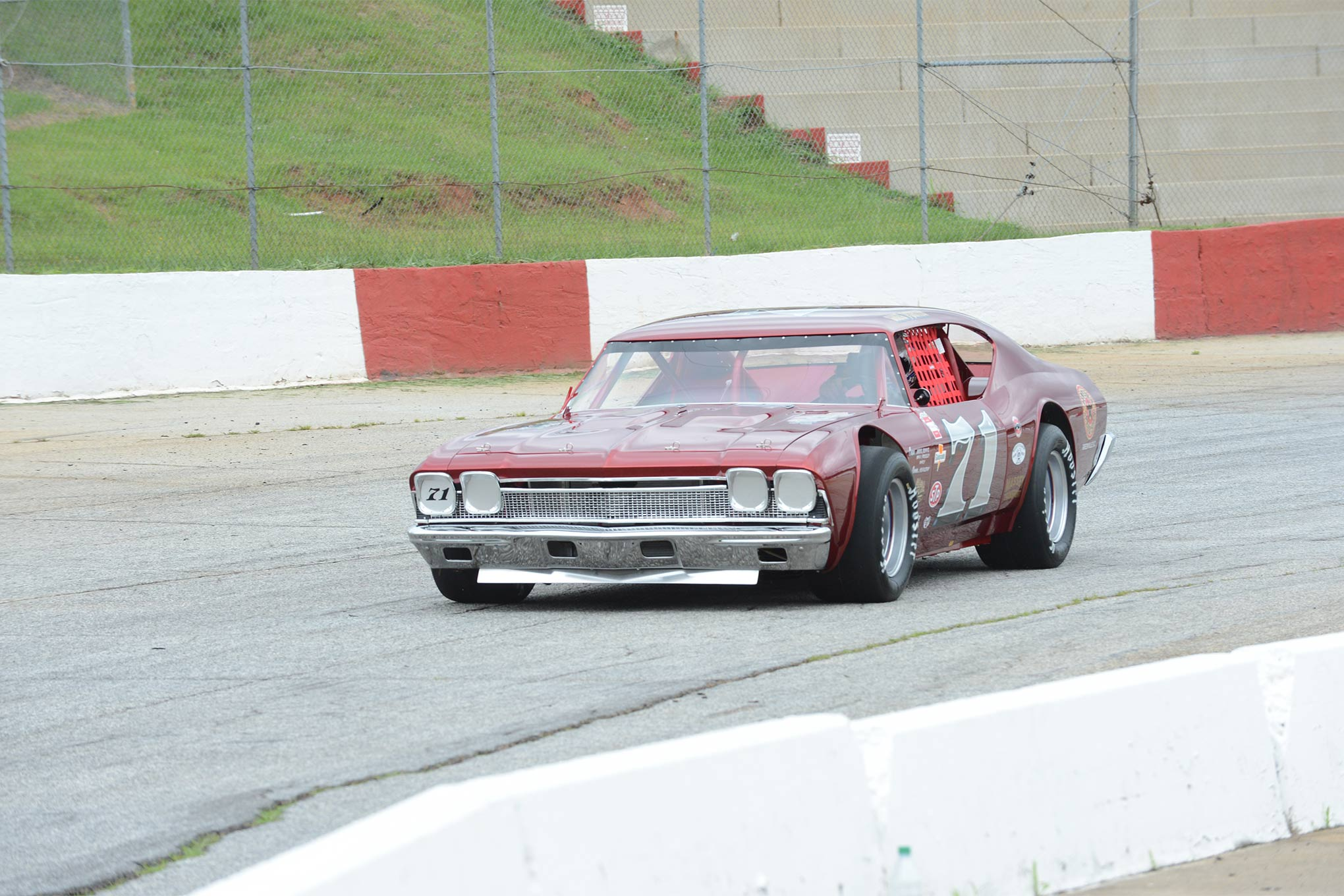Porter put the '69 Chevelle back into action at Greenville-Pickens Speedway, a place where he picked up 32 career wins in the original Chevelle.