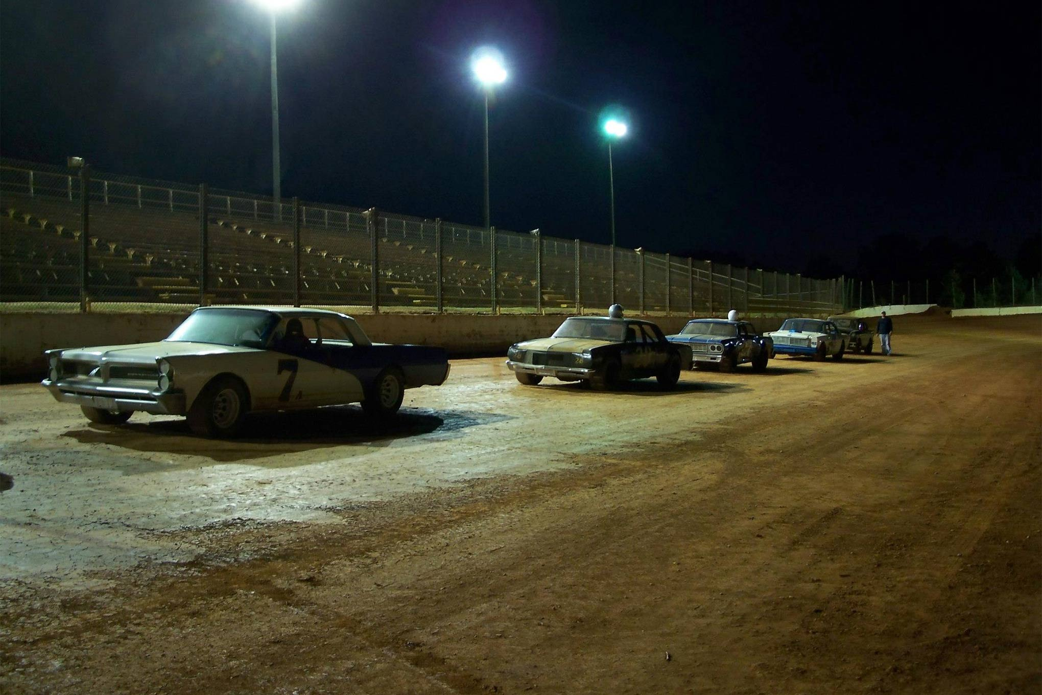 Several Carolina Vintage Racers loaned their services (and cars) for a film documentary about Wendell Scott, NASCAR's first African-American driver.
