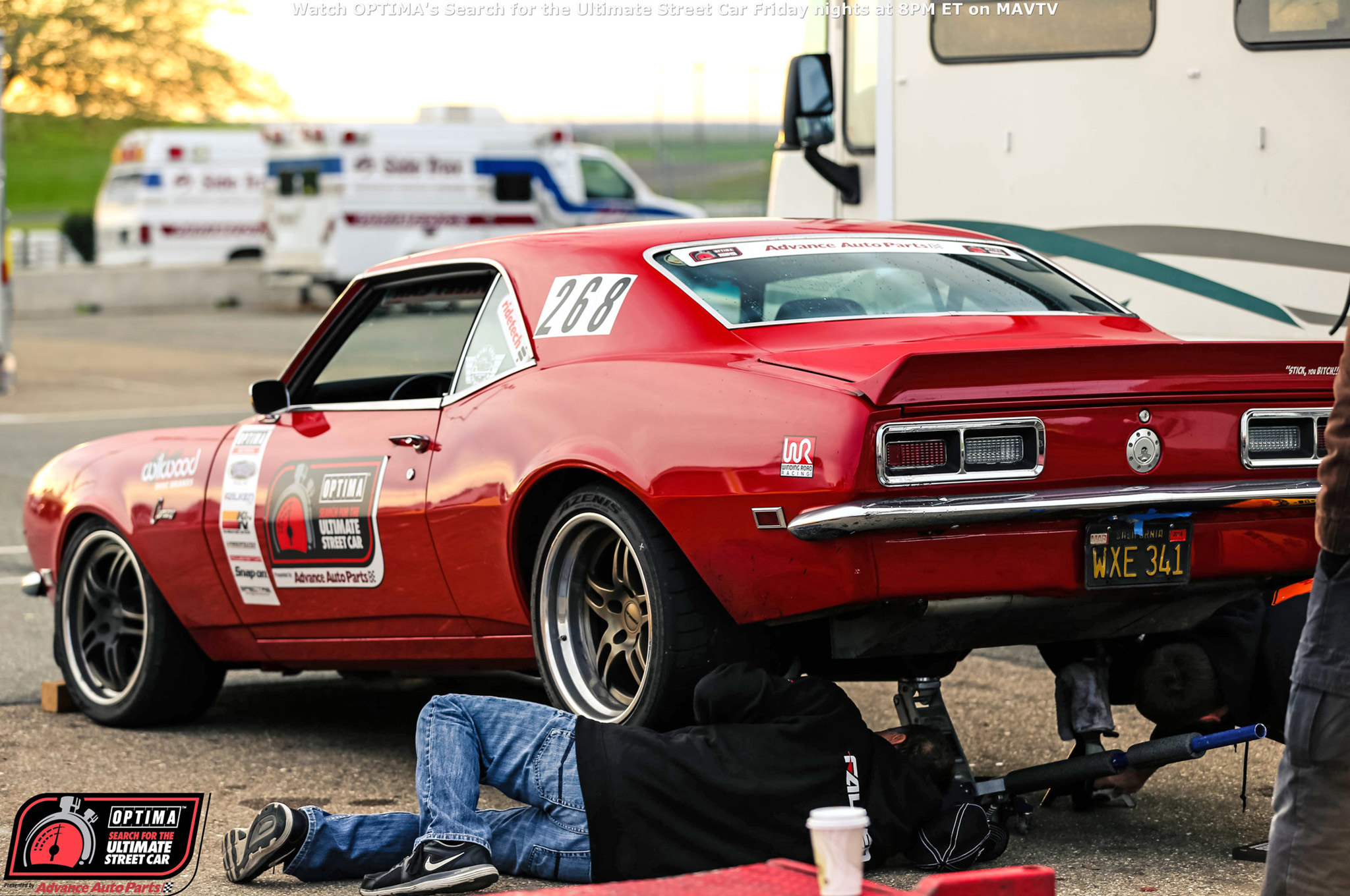 While many competitors trailered their vehicles to and from the event, Chad Ryker had no such safety net. He drove his 1968 Camaro to and from Thunderhill, with a little wrenching in between. He also managed an impressive Second-Place finish in the GTV class.