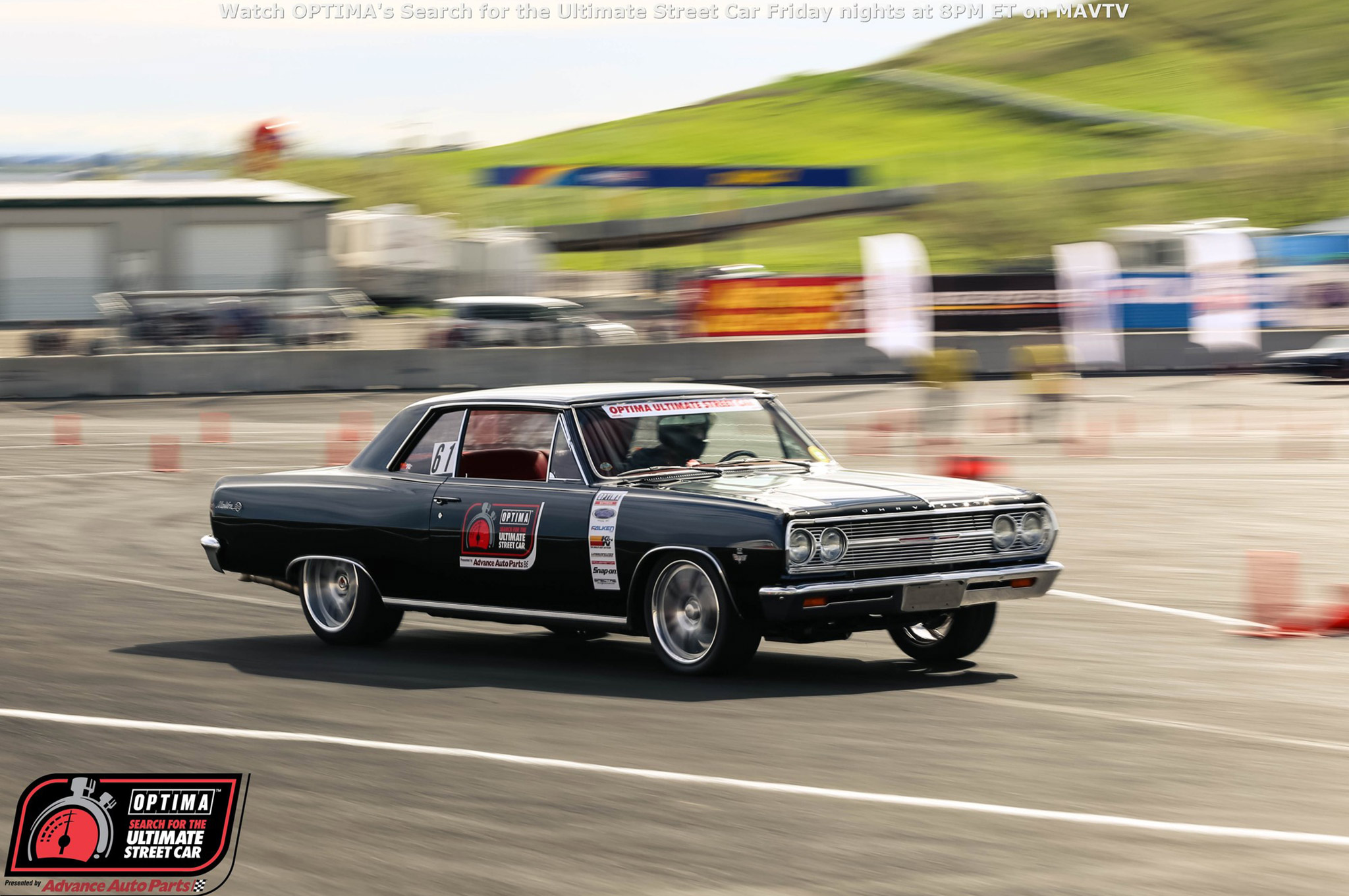 Sometimes we're amazed at the quality of the vehicles that run in these events. Gil Alfonso's 1965 Chevelle would've been just as well-suited to rotate on a mirrored display at the Detroit Autorama, but he decided to beat on it at a racetrack instead. Alfonso finished 11th in the GTV class, but was the overall winner in the Lingenfelter Design & Engineering Challenge.