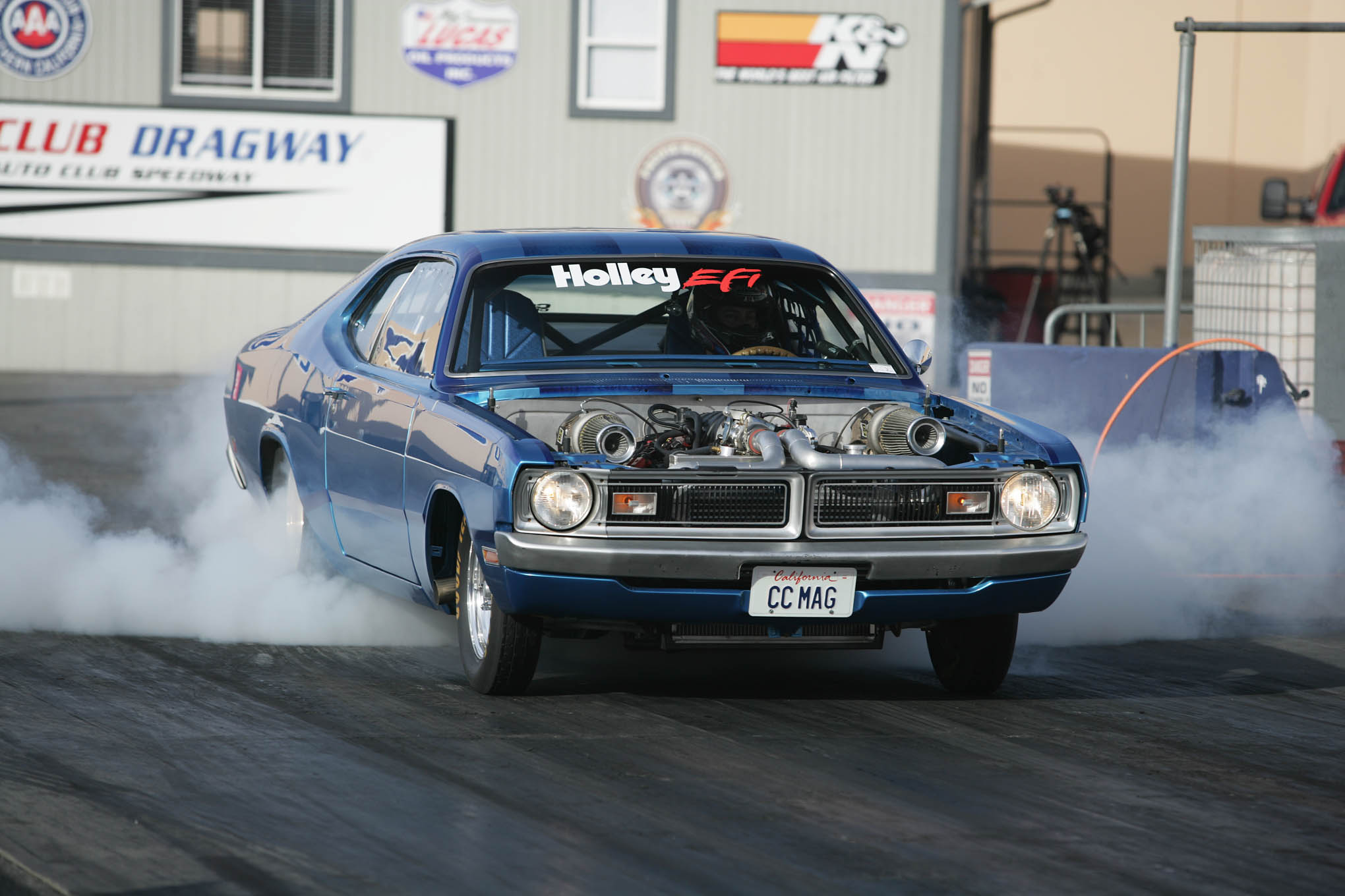 To keep the new transmission alive, you need to keep it cool and shift it correctly in the burnout box. Transmission fluid will start to burn, change color, and smell when it gets hot. You can prevent damage by checking the fluid after each run. If it is burning, you'll need to run the engine to pump the fluid through the cooler. If the fluid is overheating on the street, you'll need to make sure you have an adequate oil cooler.