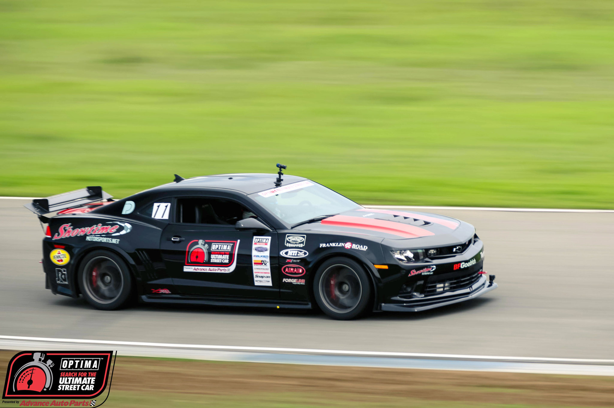 Ken Thwaits has now qualified a fifth-gen Camaro in each of the last three seasons. His Showtime Motorsports crew overcame some mechanical gremlins and stiff competiton from both of Jordan Priestley's Camaros to bring home the victory.