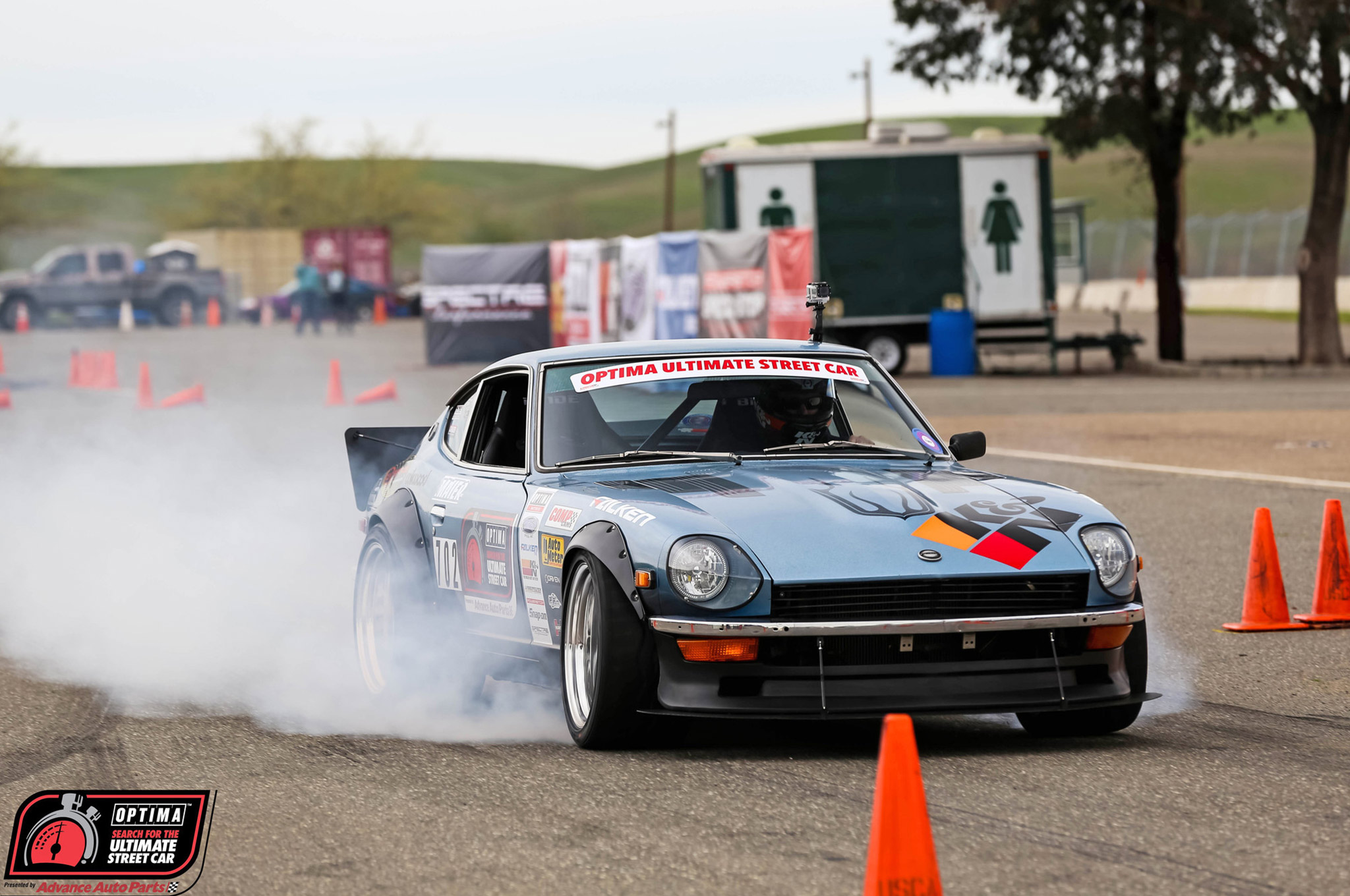 It may be a Datsun on the outside, but David Carroll's 280Z is all Chevy under the hood. His LS1-powered Datsun competed in the 2015 OUSCI and he's looking to make a return trip in 2016.