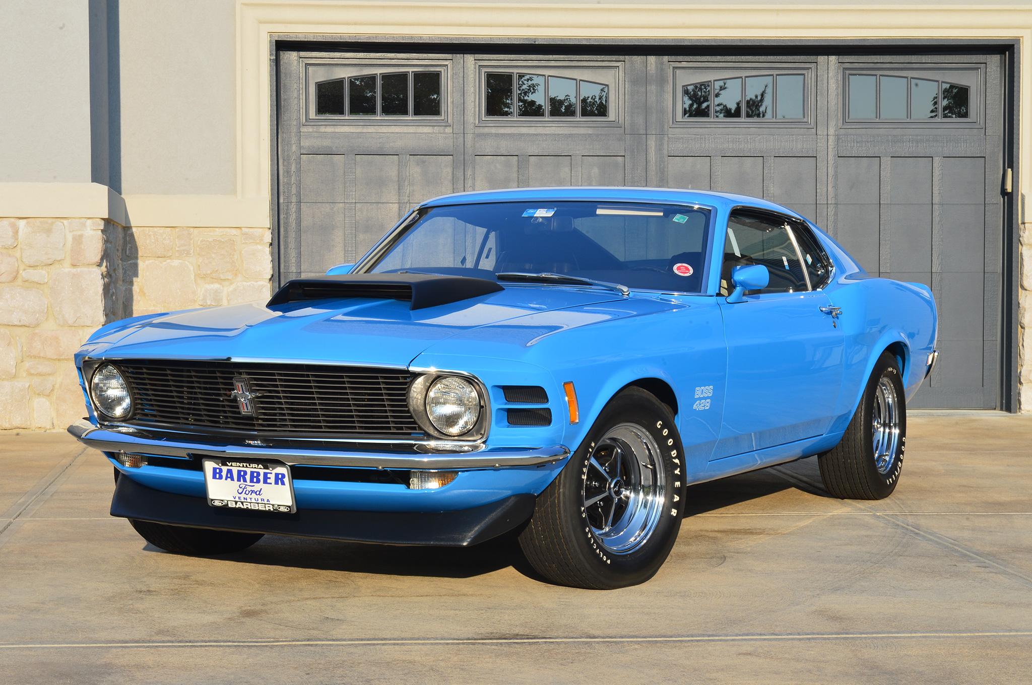 mustang 1970 429 boss ford campbell rick side