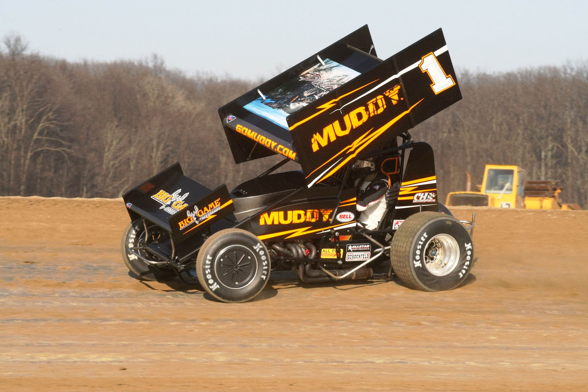 All-Star Circuit of Champions Titlist Dale Blaney tried his hand at Attica.