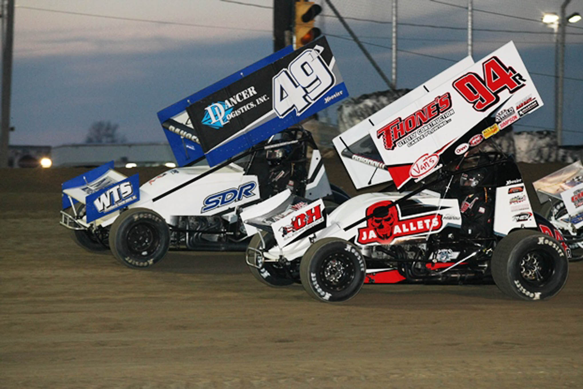 Pribnow and Shawn Dancer (49) went on to transfer spots from the B Main.