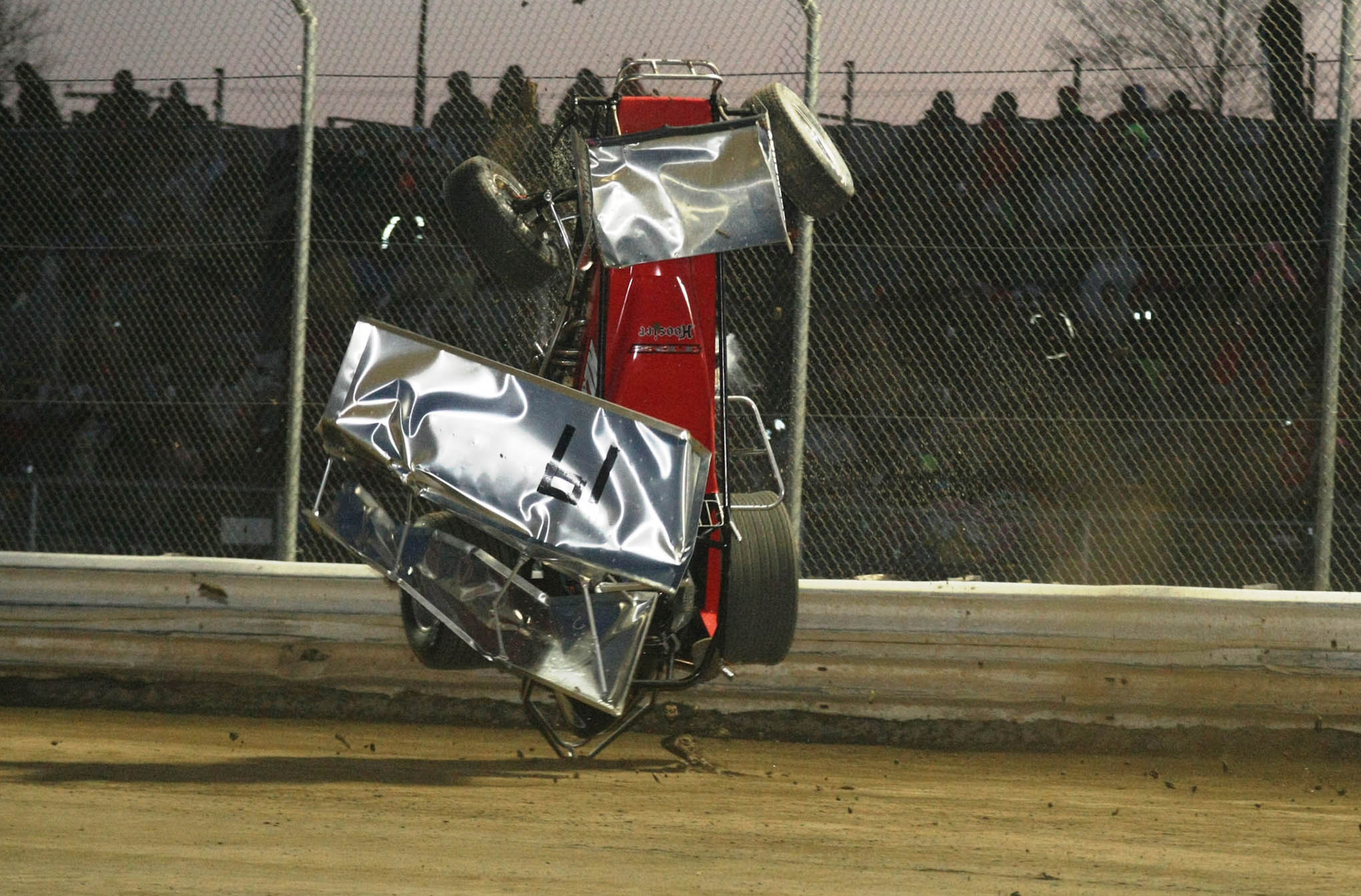 Zimmerman went for a wild ride in the B Main.