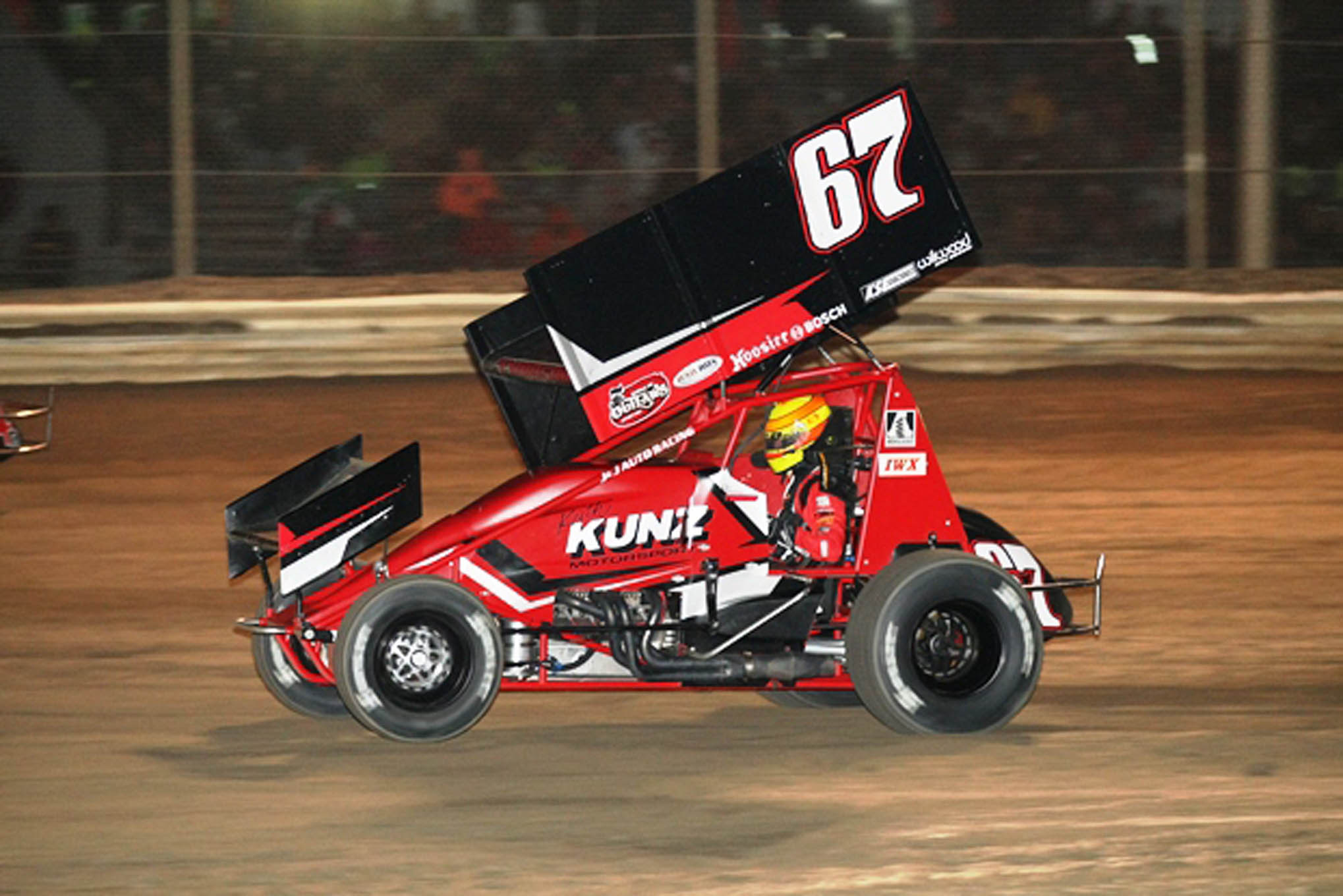 Thorson finished 14th in the A Main.